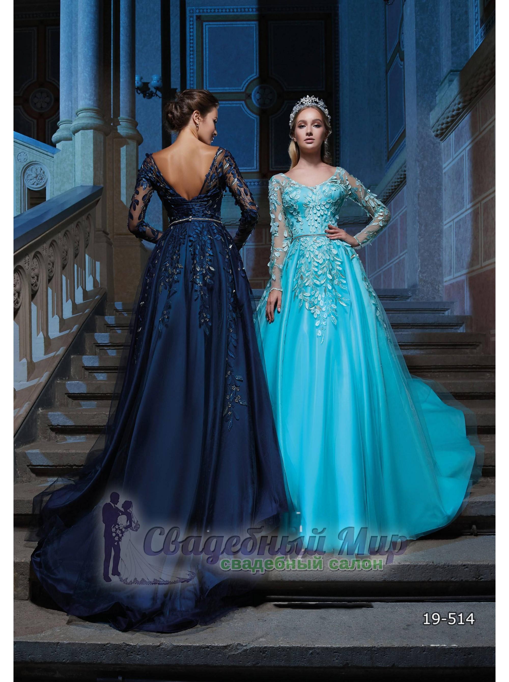 Вечернее платье 19-514