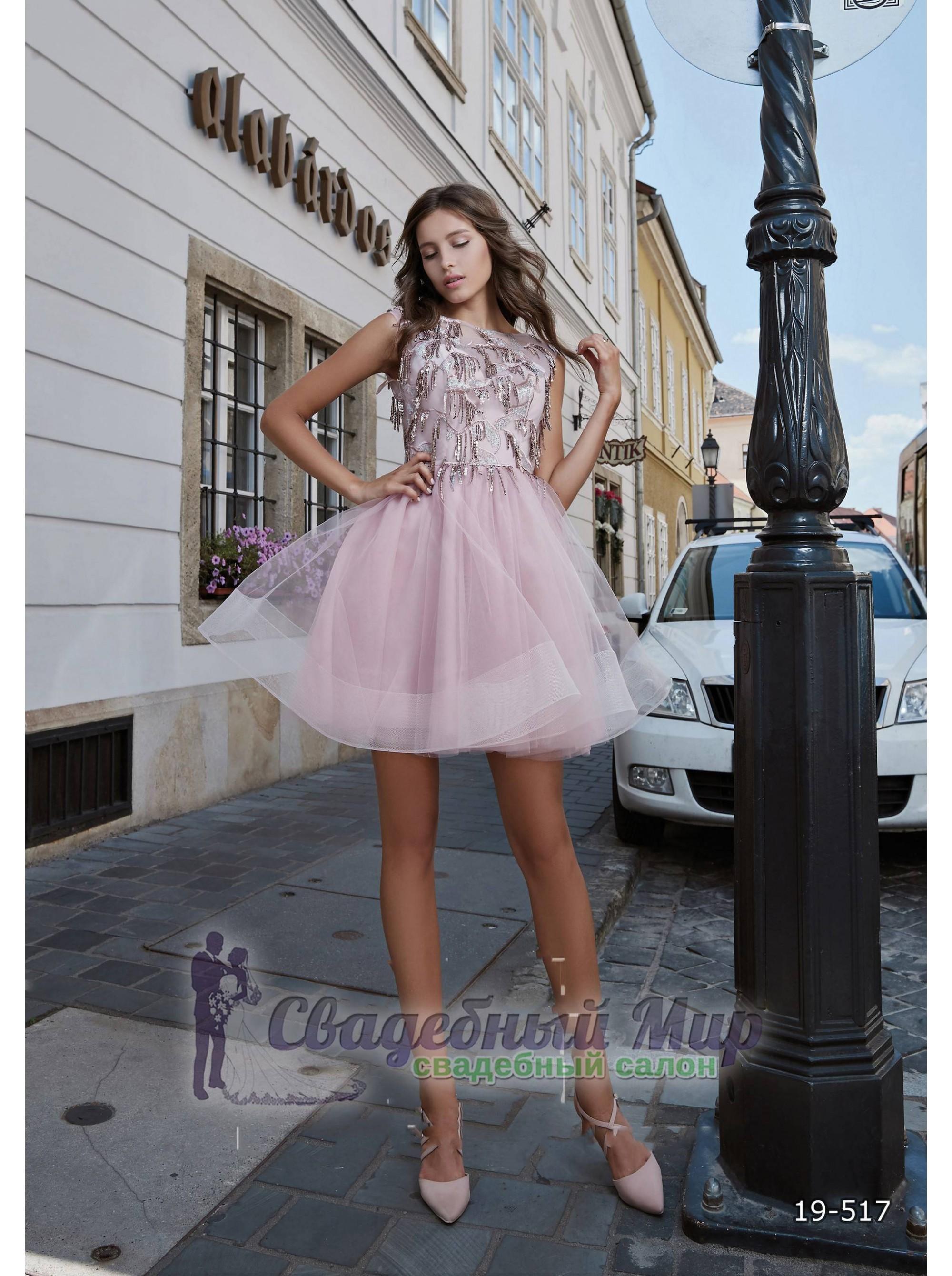 Вечернее платье 19-517