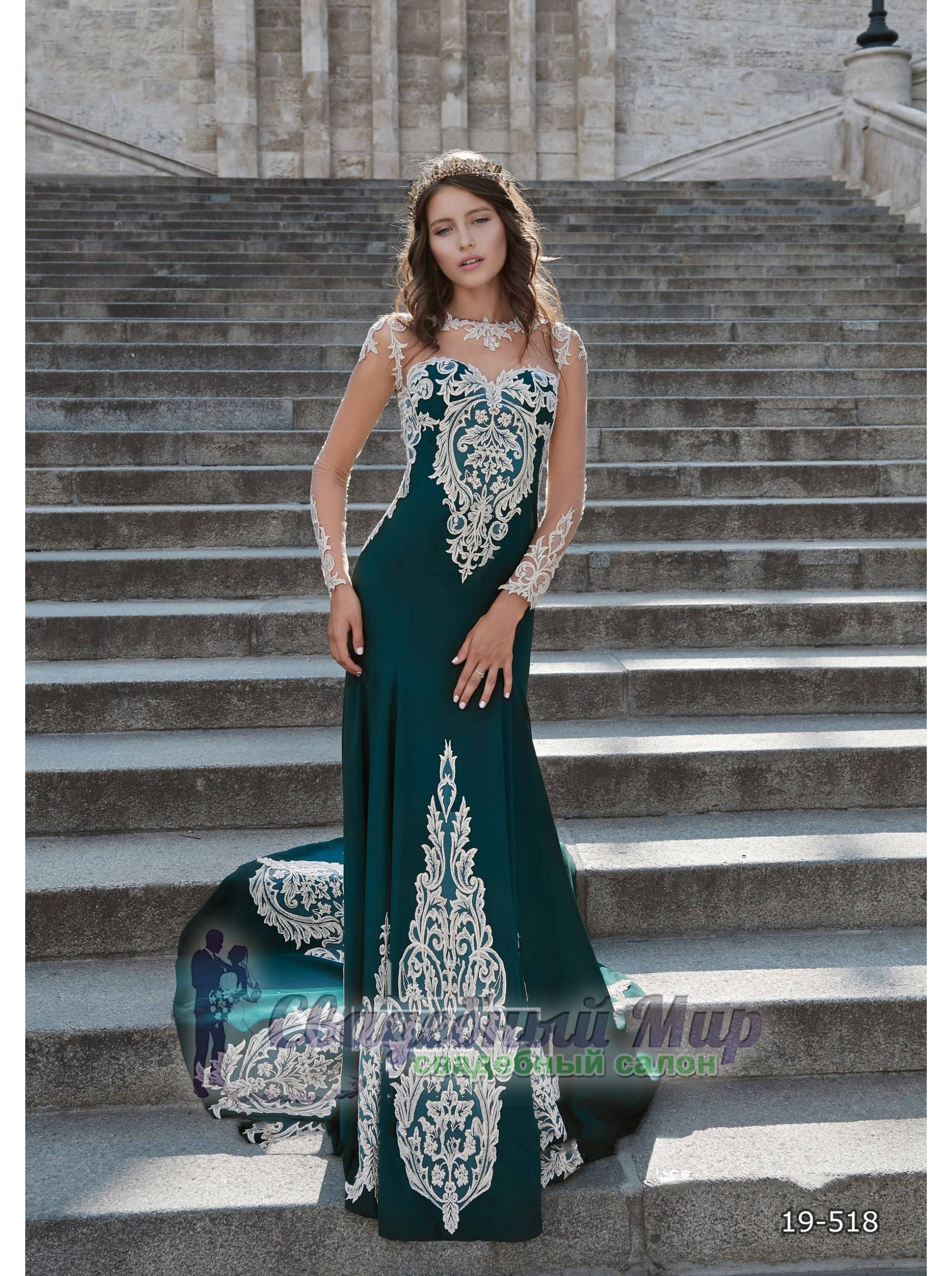 Вечернее платье 19-518