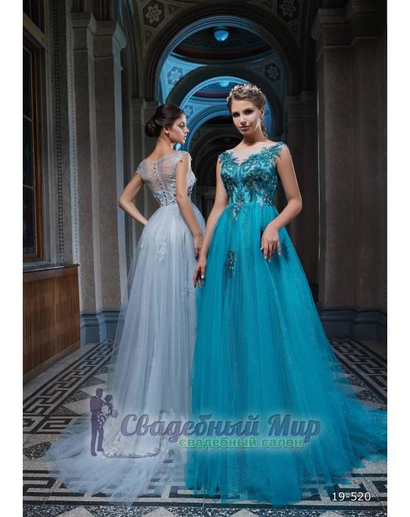 Вечернее платье 19-520