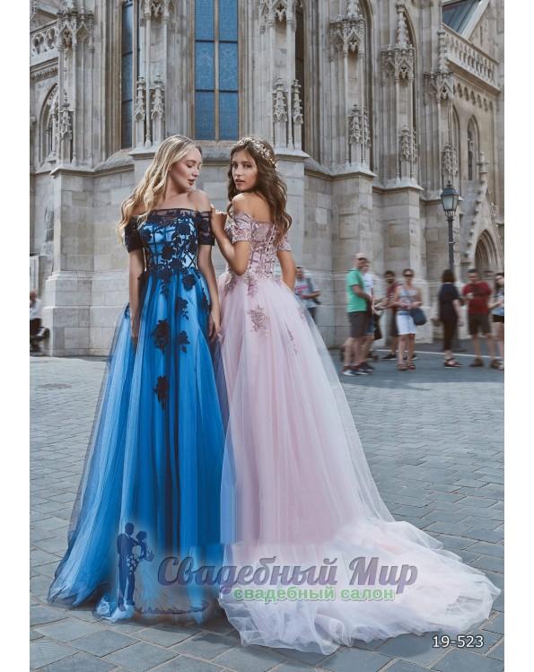 Вечернее платье 19-523