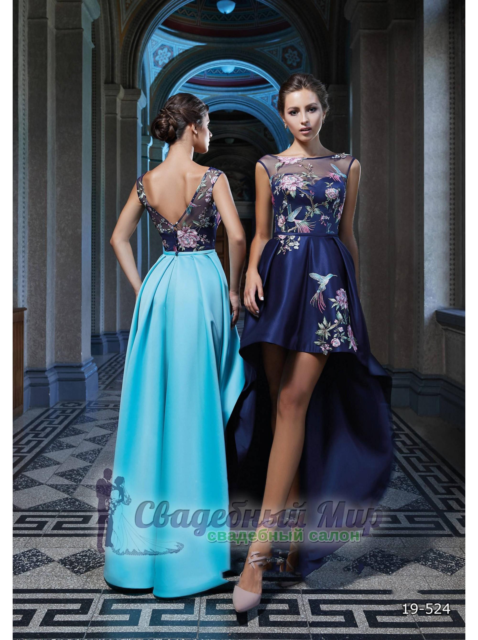 Вечернее платье 19-524