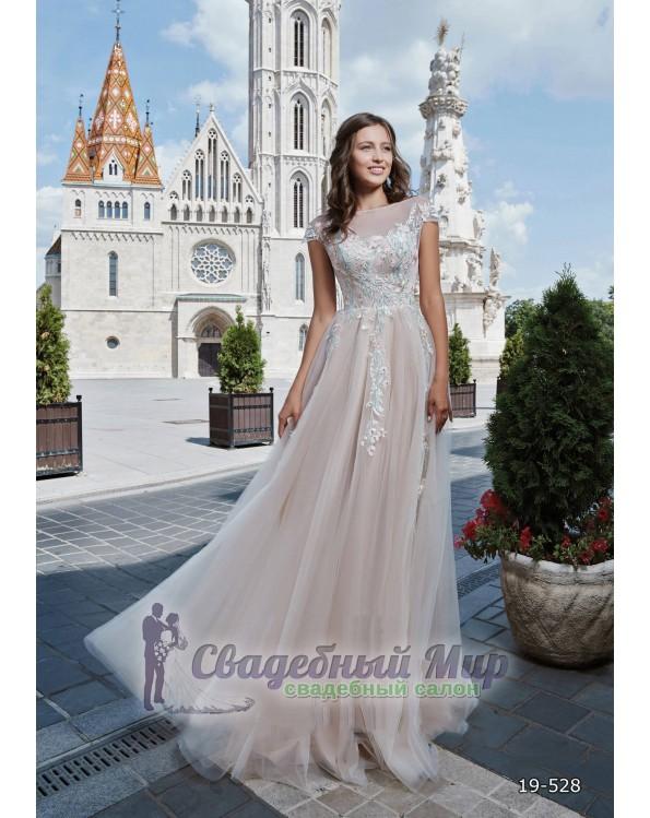 Вечернее платье 19-528
