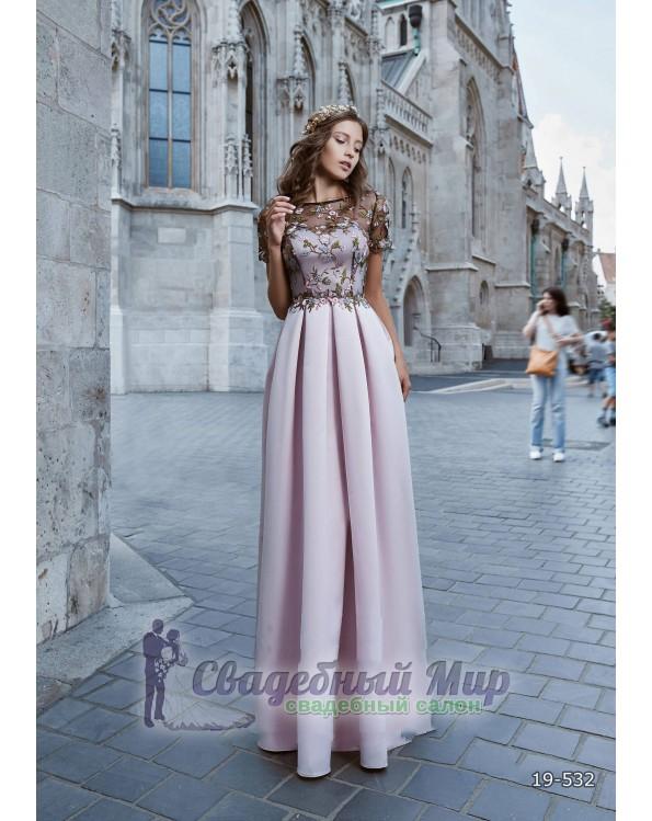 Вечернее платье 19-532
