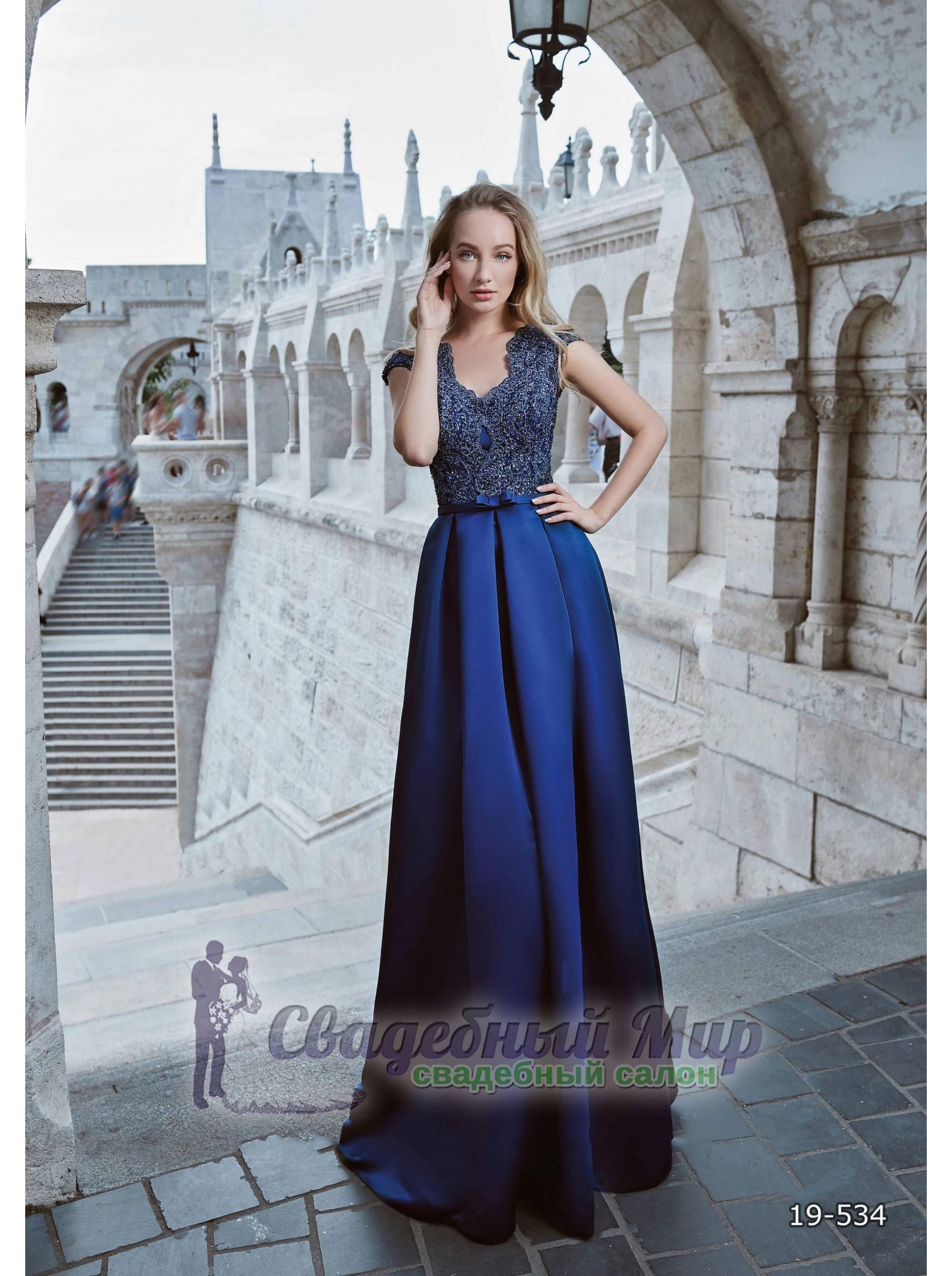 Вечернее платье 19-534