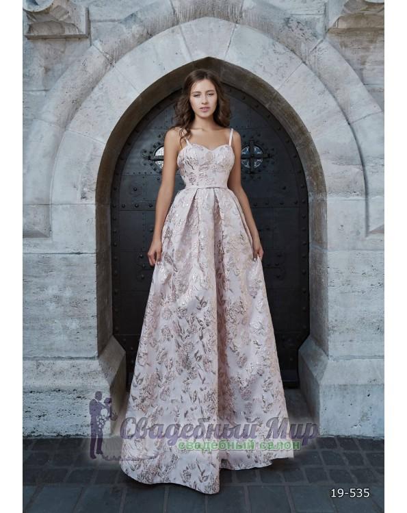 Вечернее платье 19-535