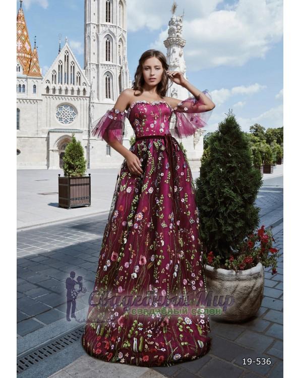 Вечернее платье 19-536
