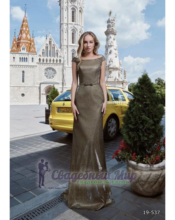 Вечернее платье 19-537