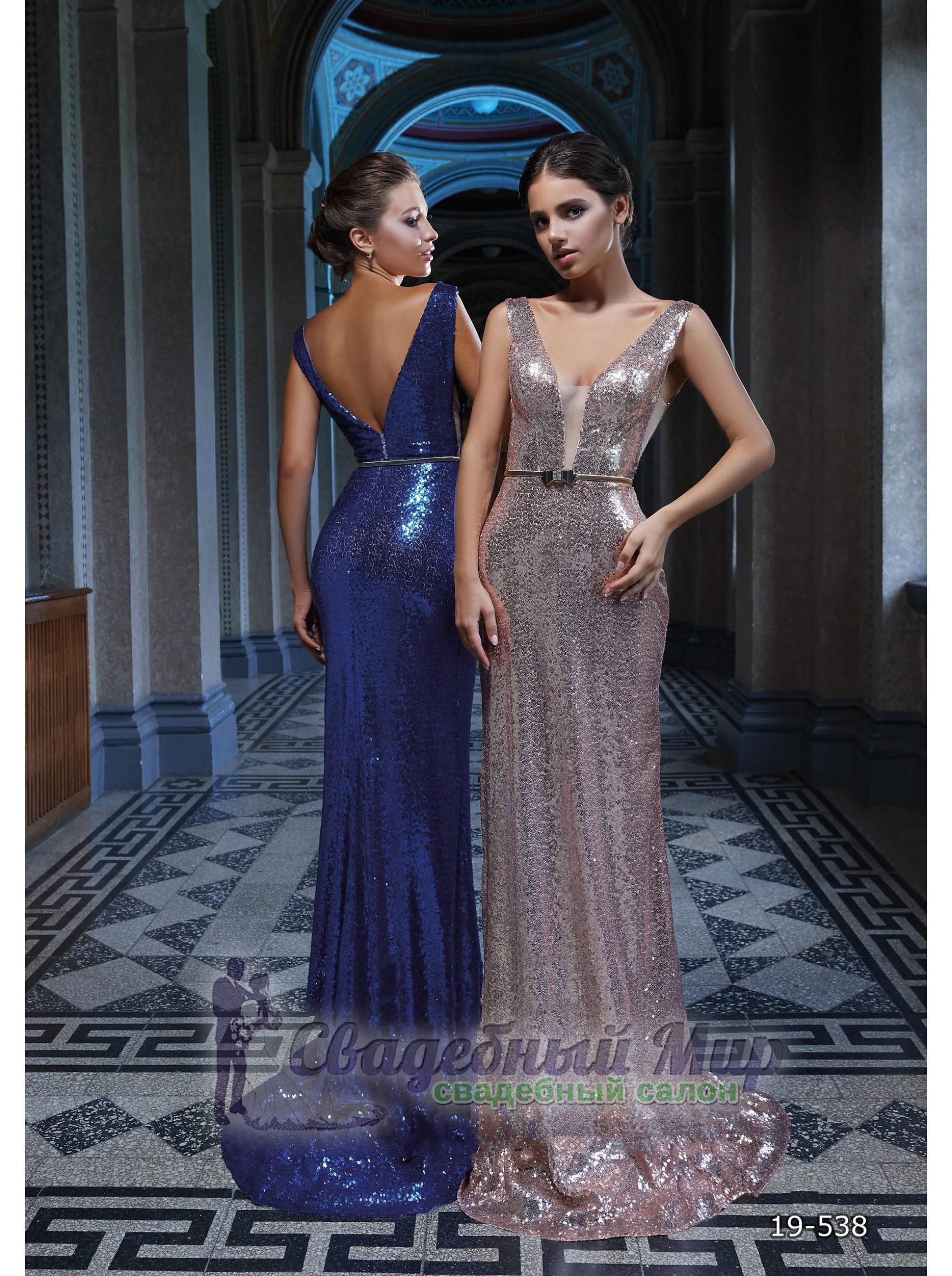 Вечернее платье 19-538