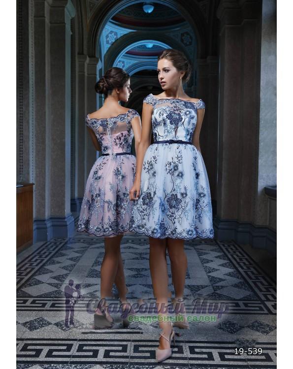 Вечернее платье 19-539