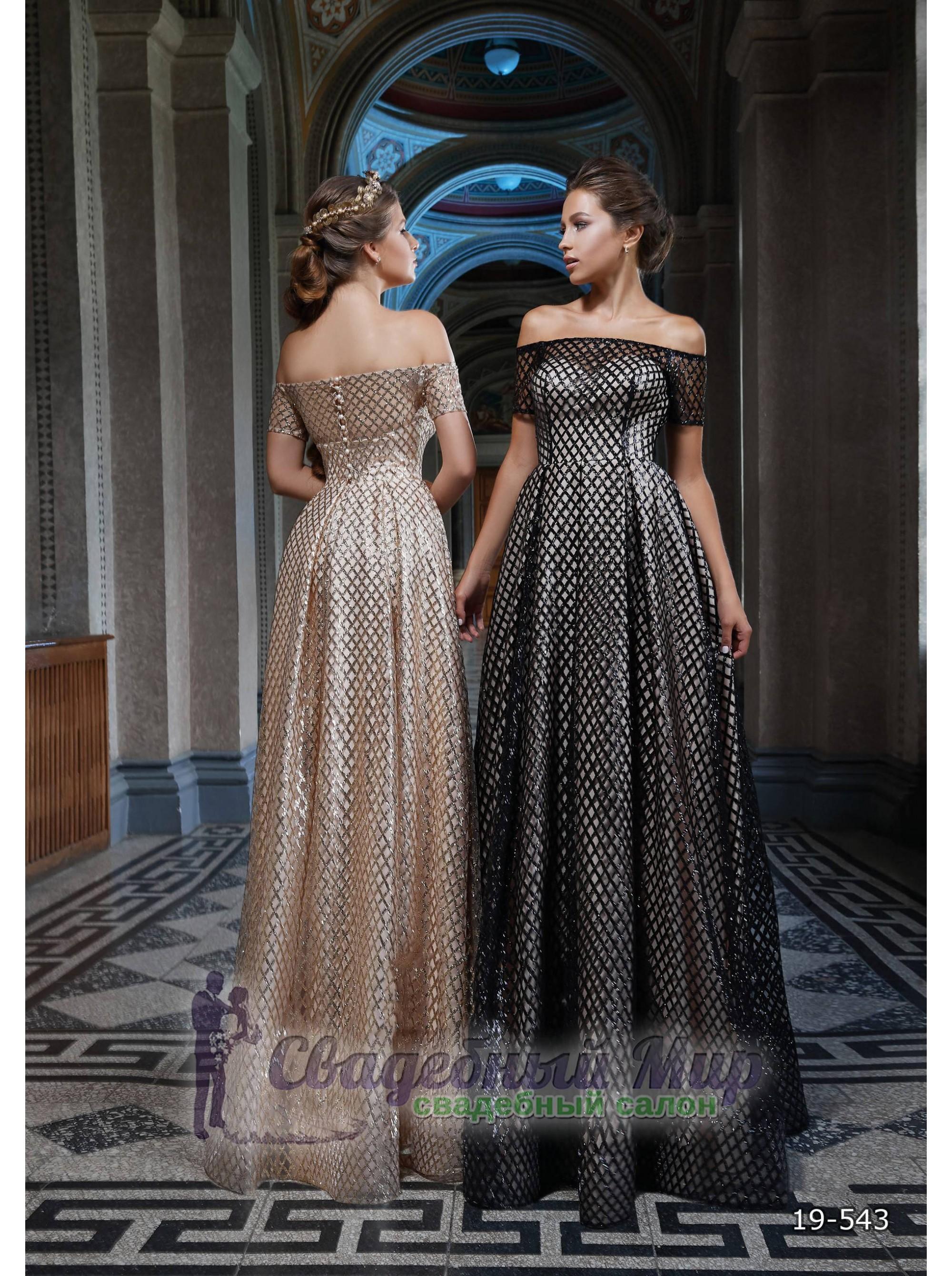 Вечернее платье 19-543