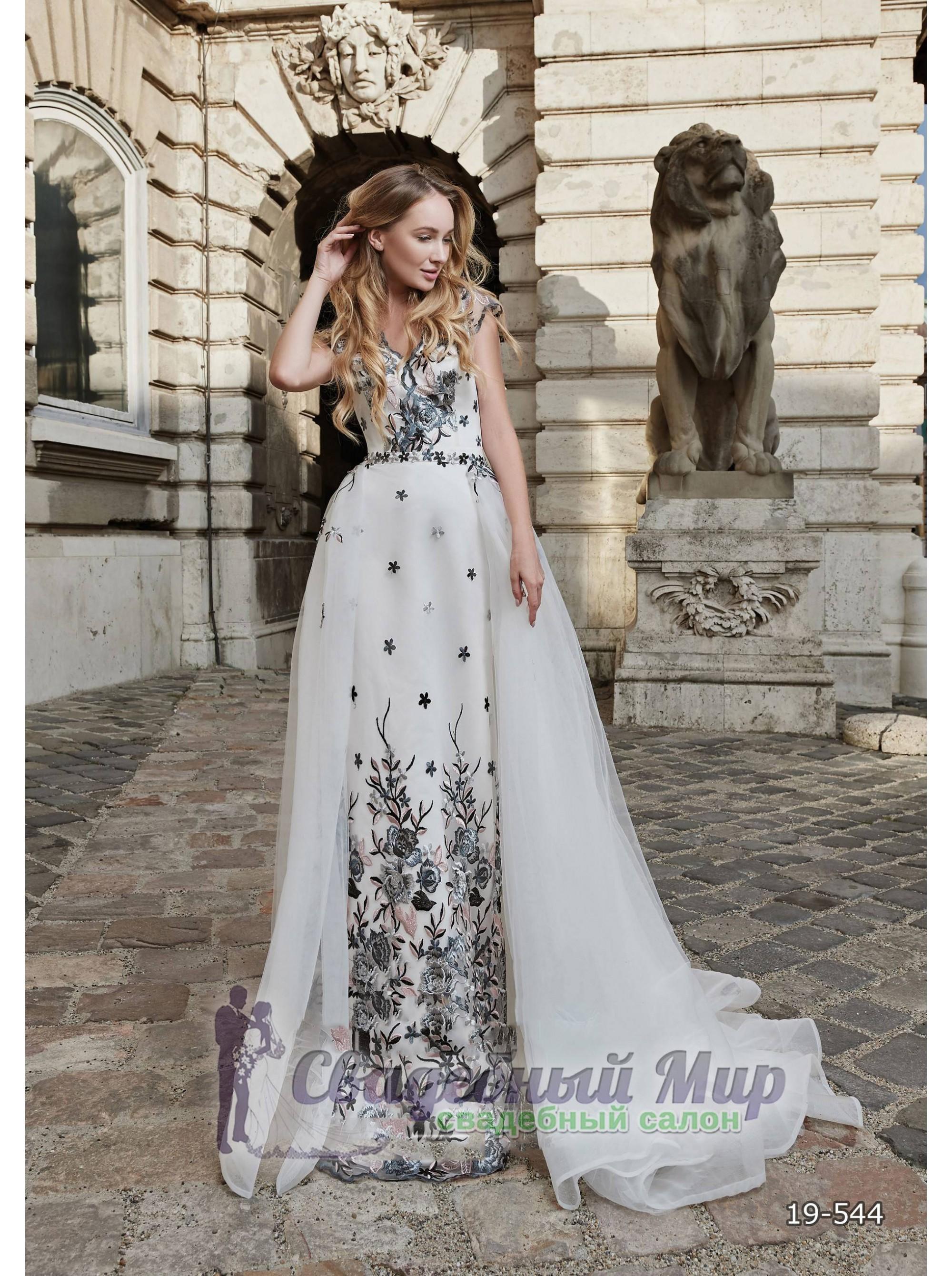 Вечернее платье 19-544