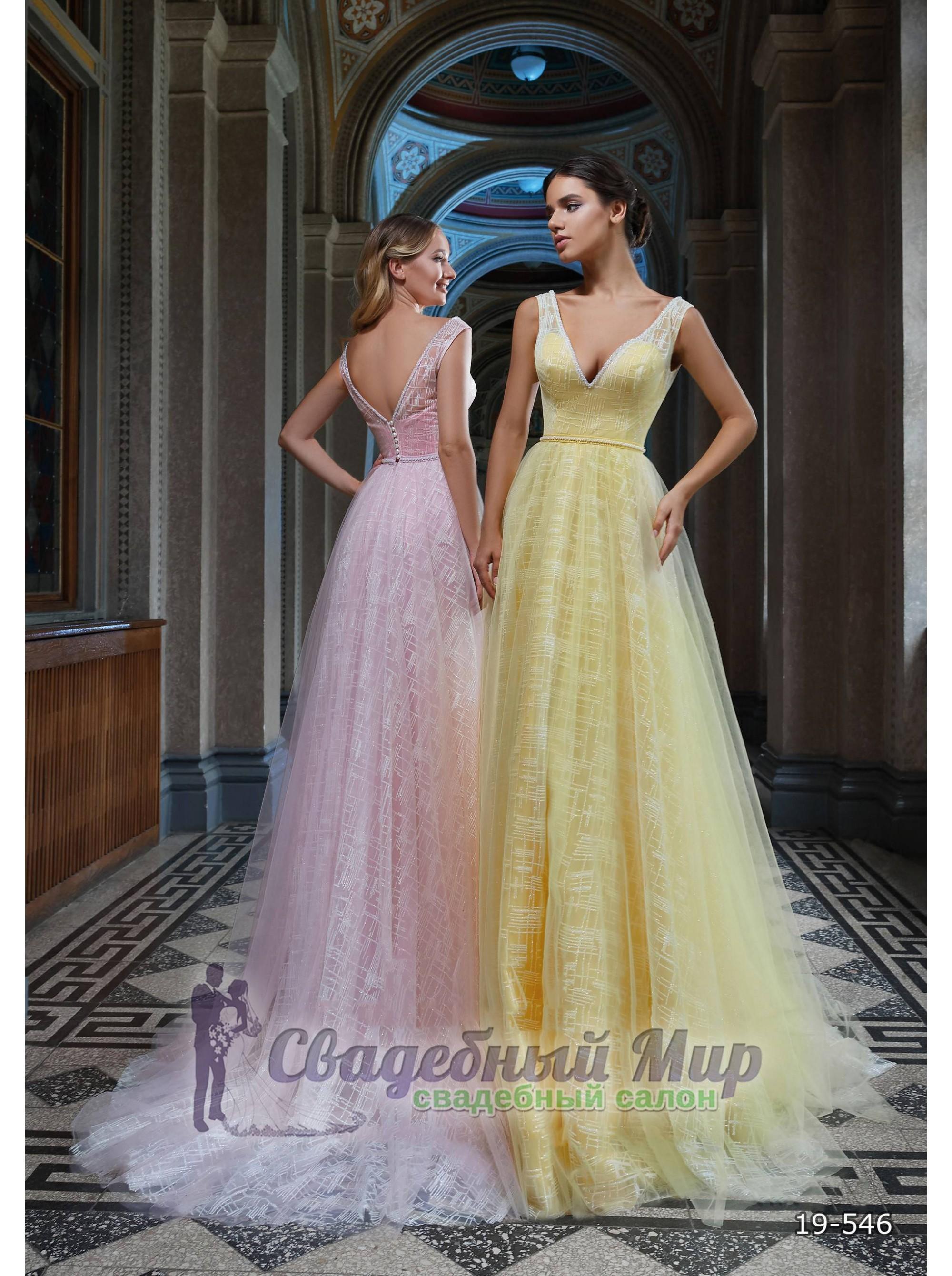 Вечернее платье 19-546