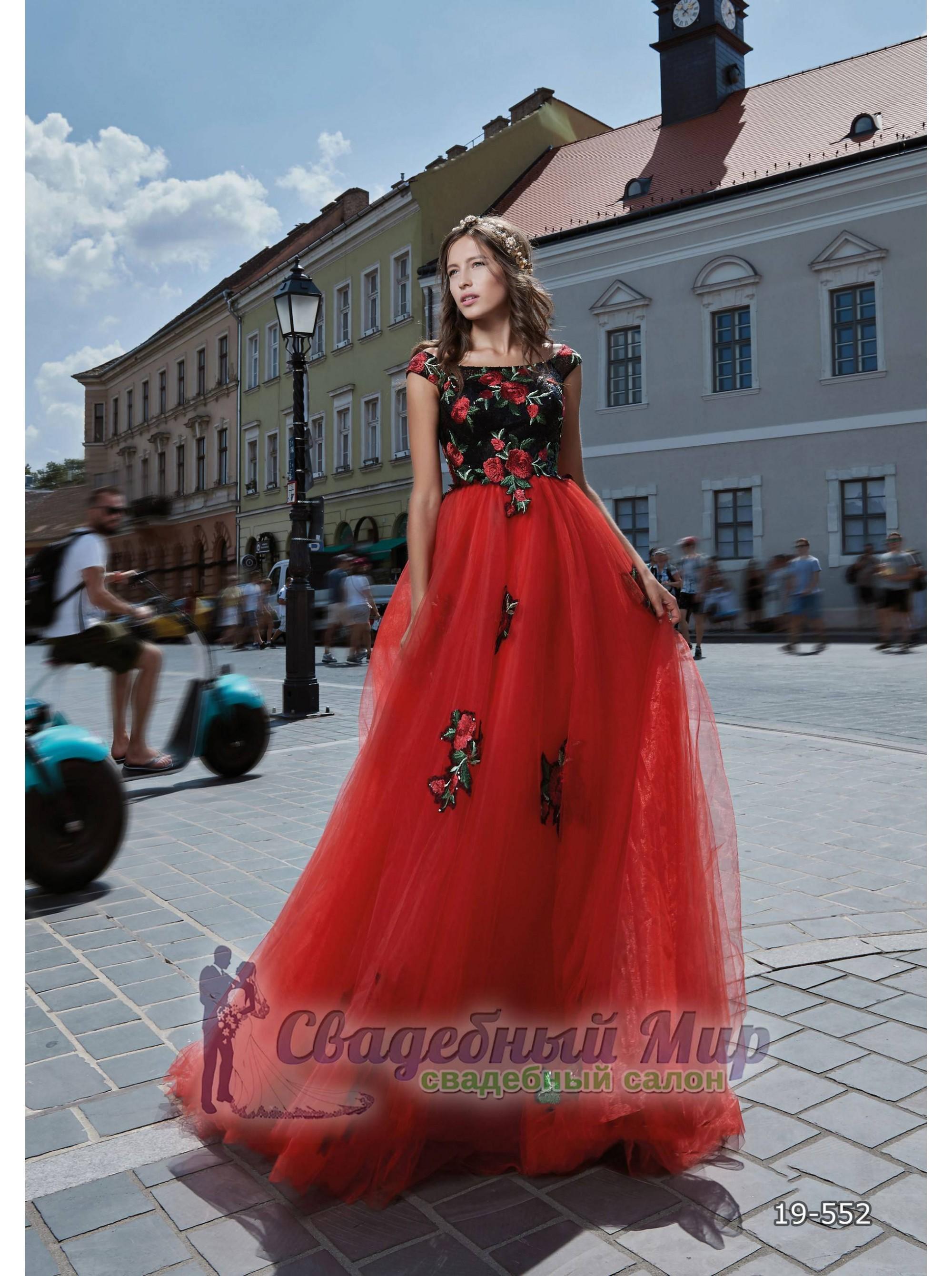Вечернее платье 19-552