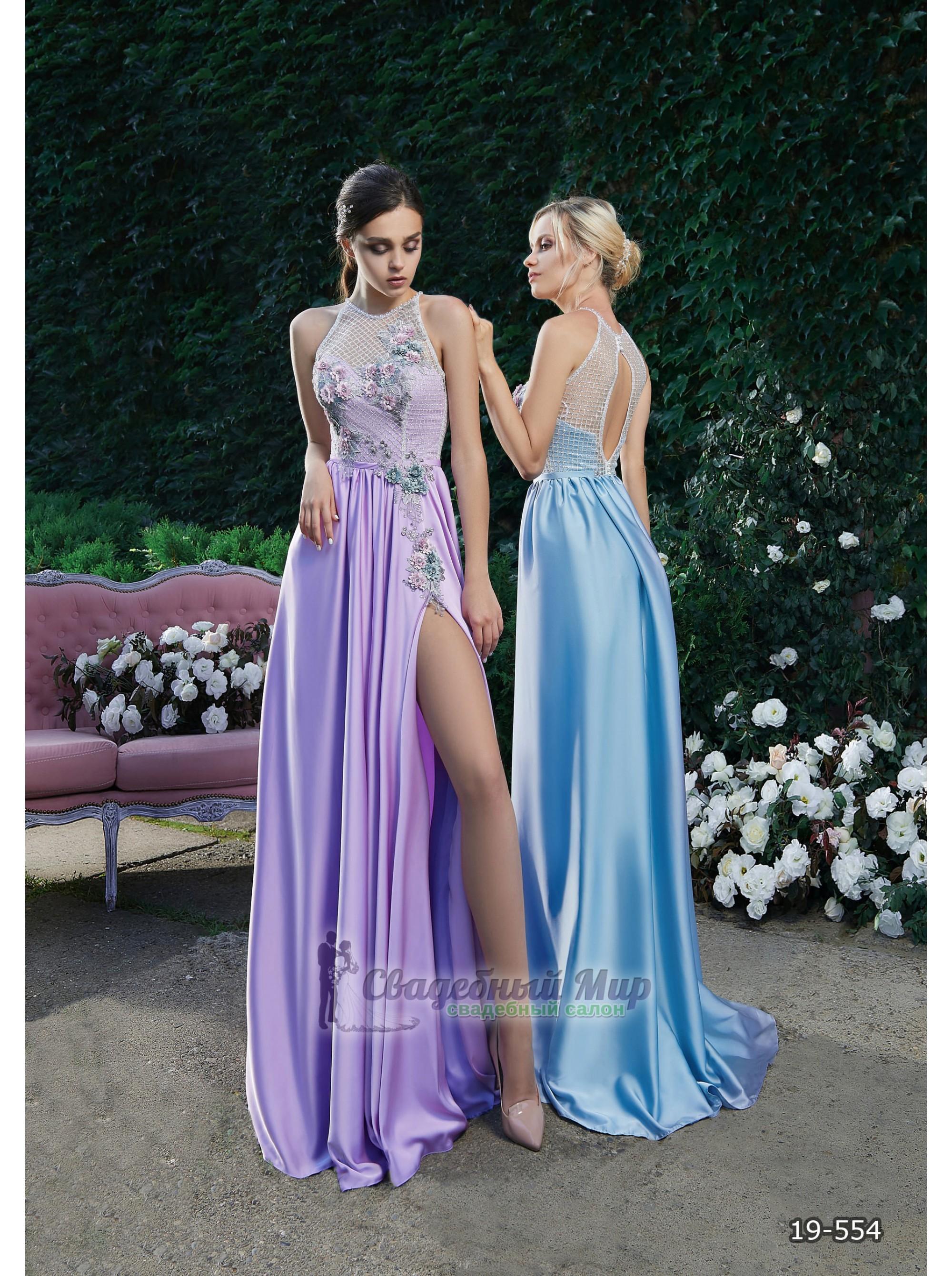 Вечернее платье 19-554