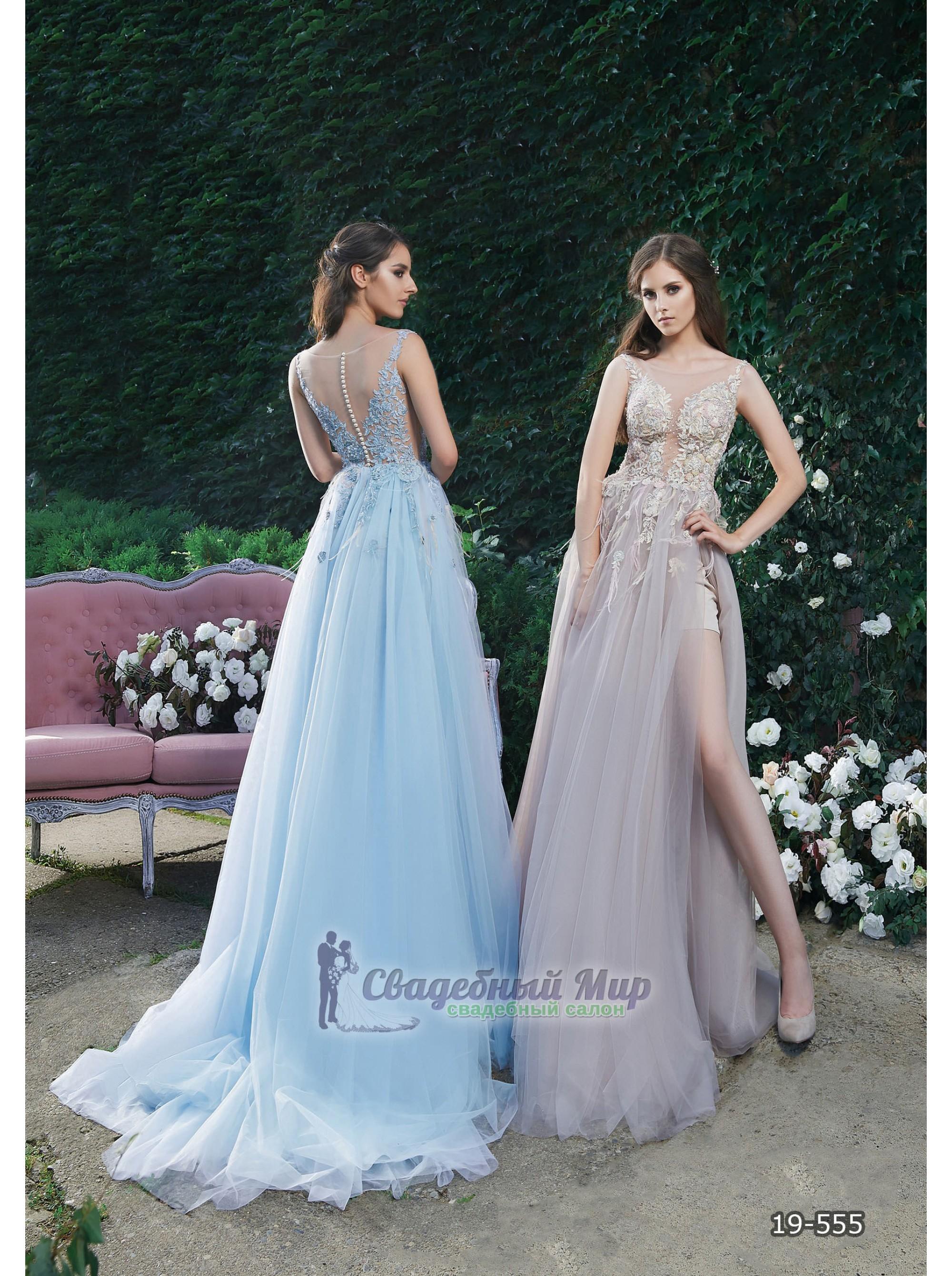Вечернее платье 19-555