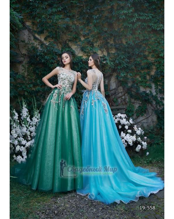 Вечернее платье 19-558