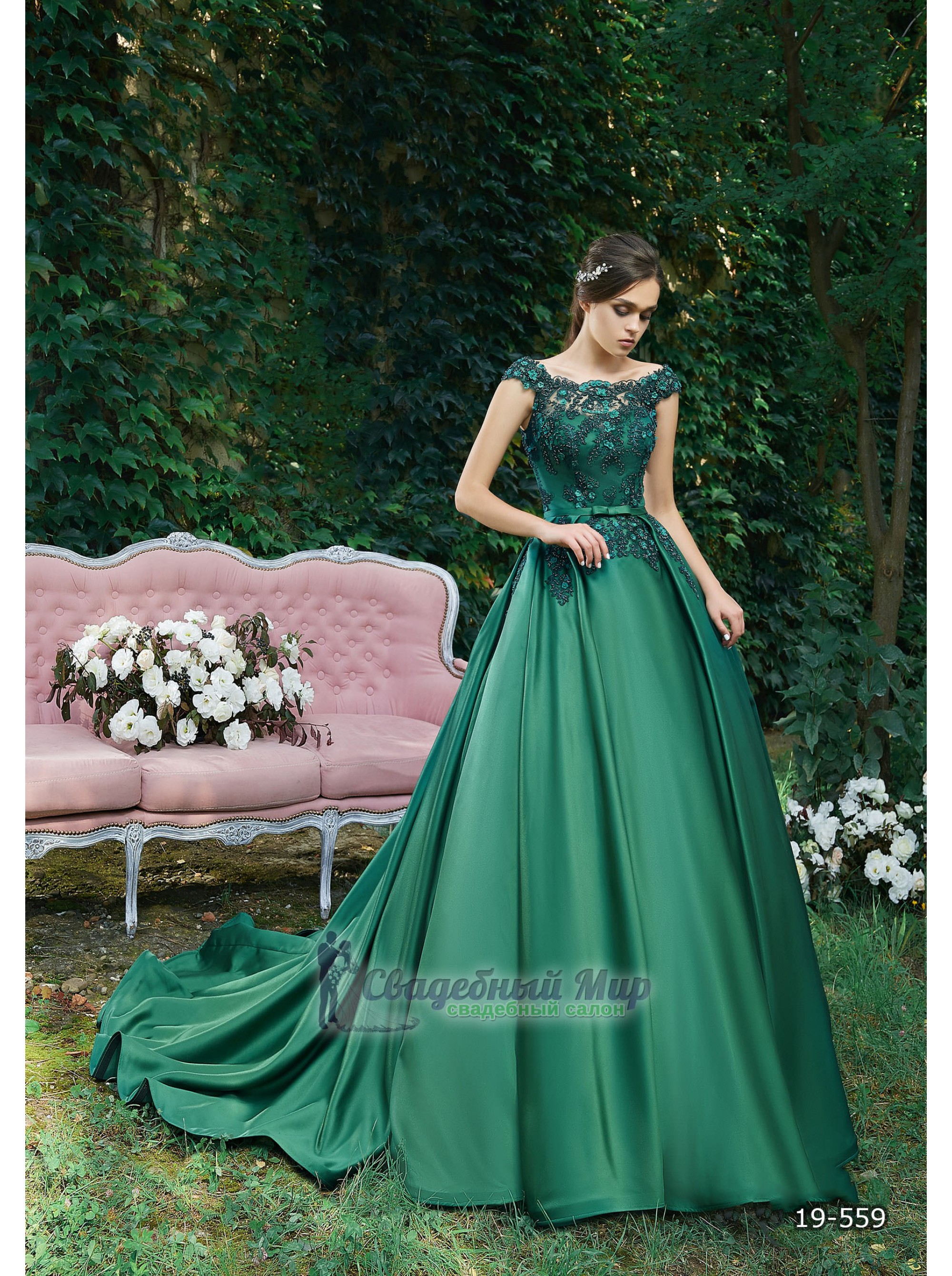 Вечернее платье 19-559