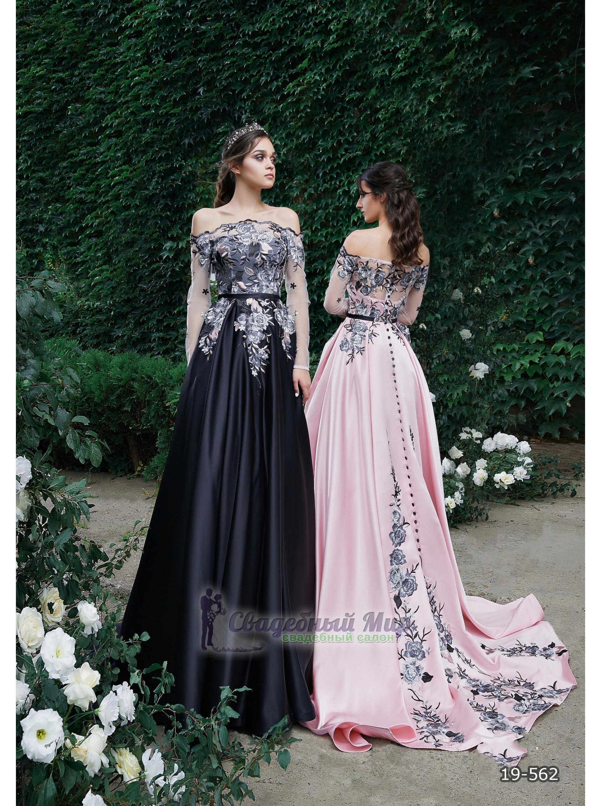 Вечернее платье 19-562