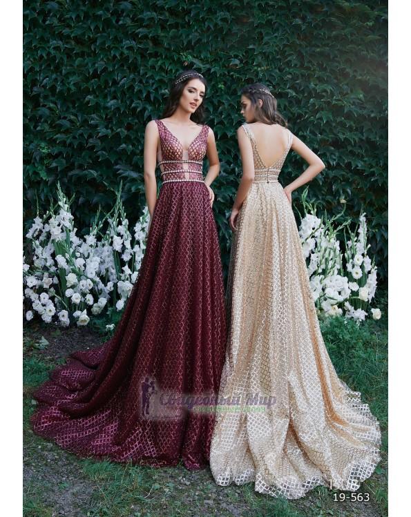 Вечернее платье 19-563