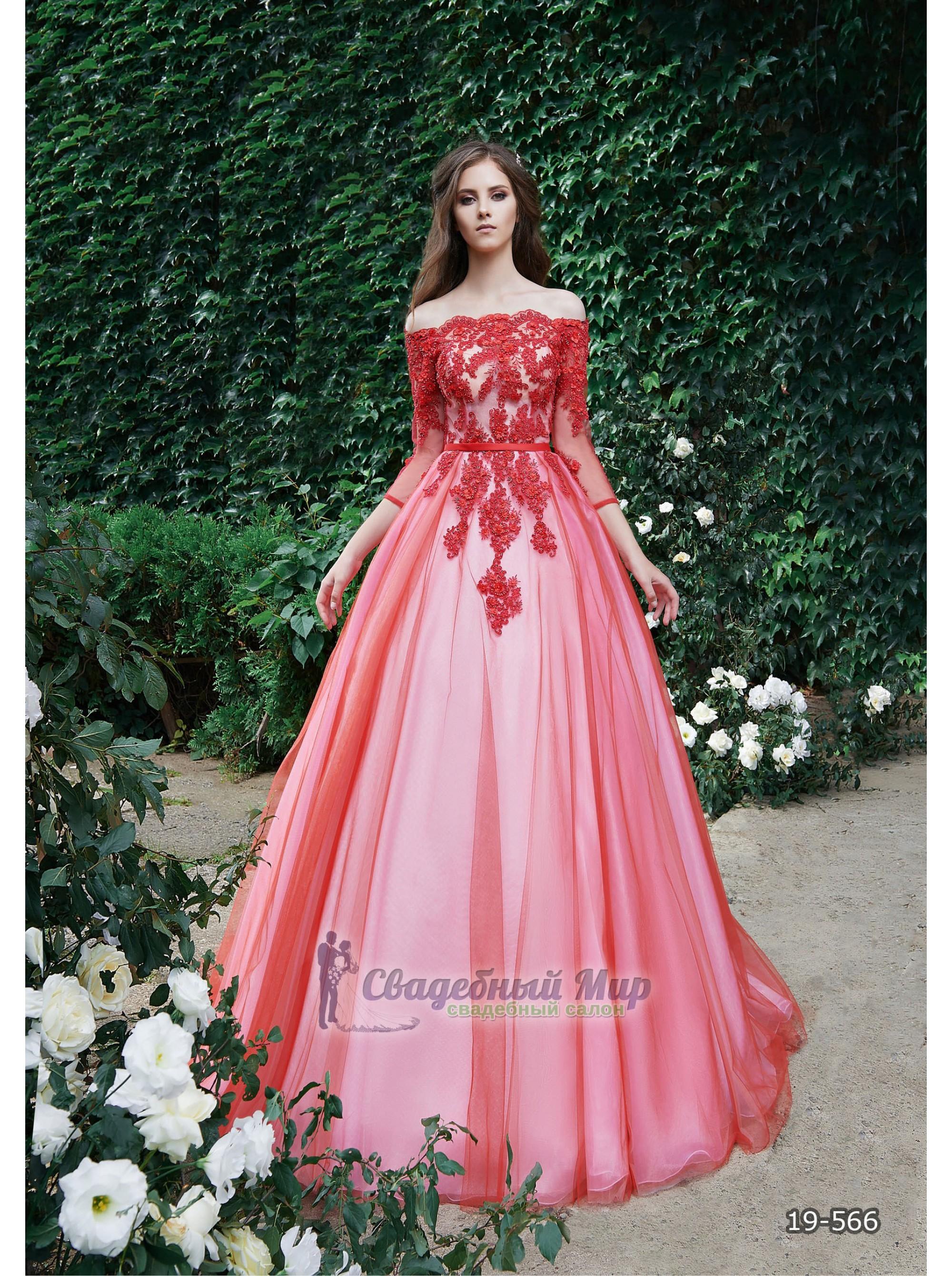 Вечернее платье 19-566
