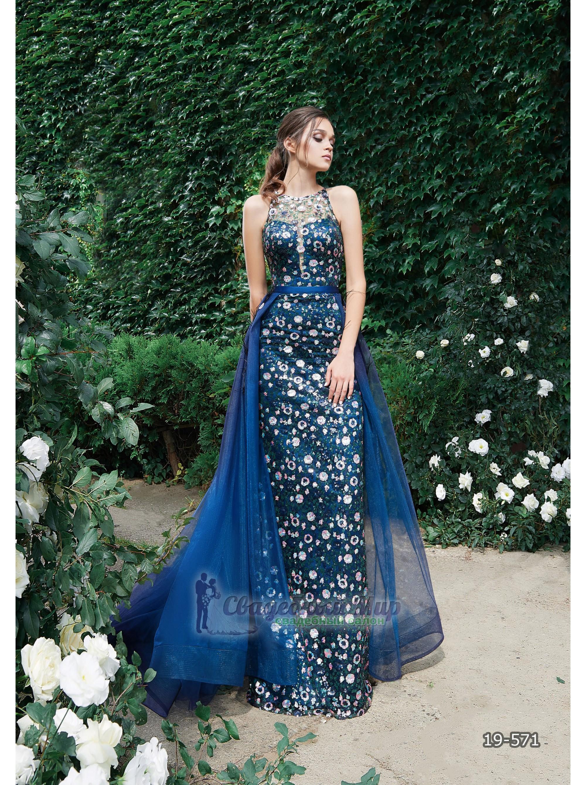 Вечернее платье 19-571
