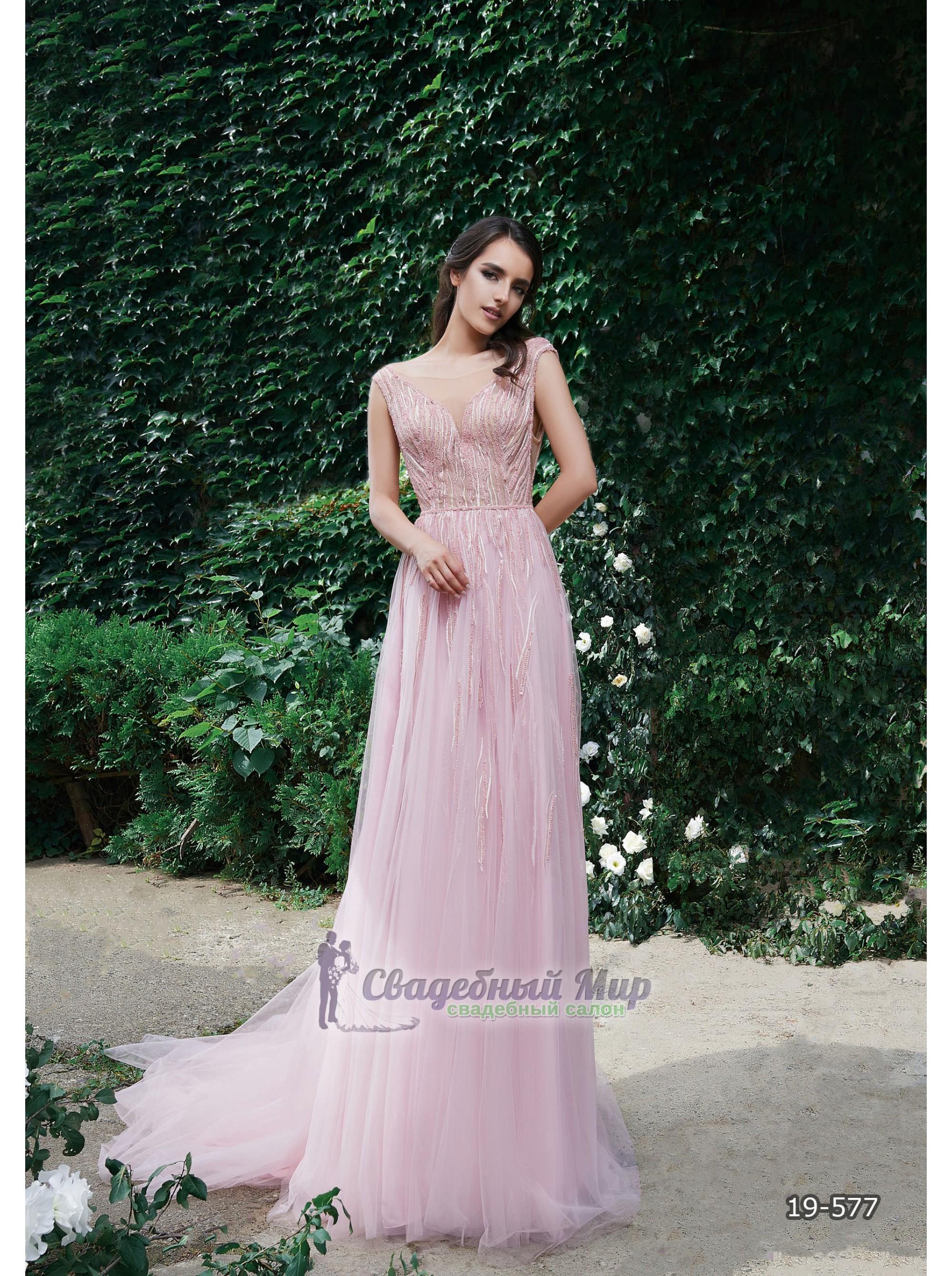 Вечернее платье 19-577