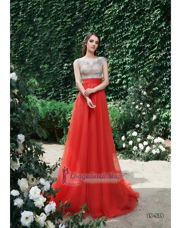 Вечернее платье 19-579