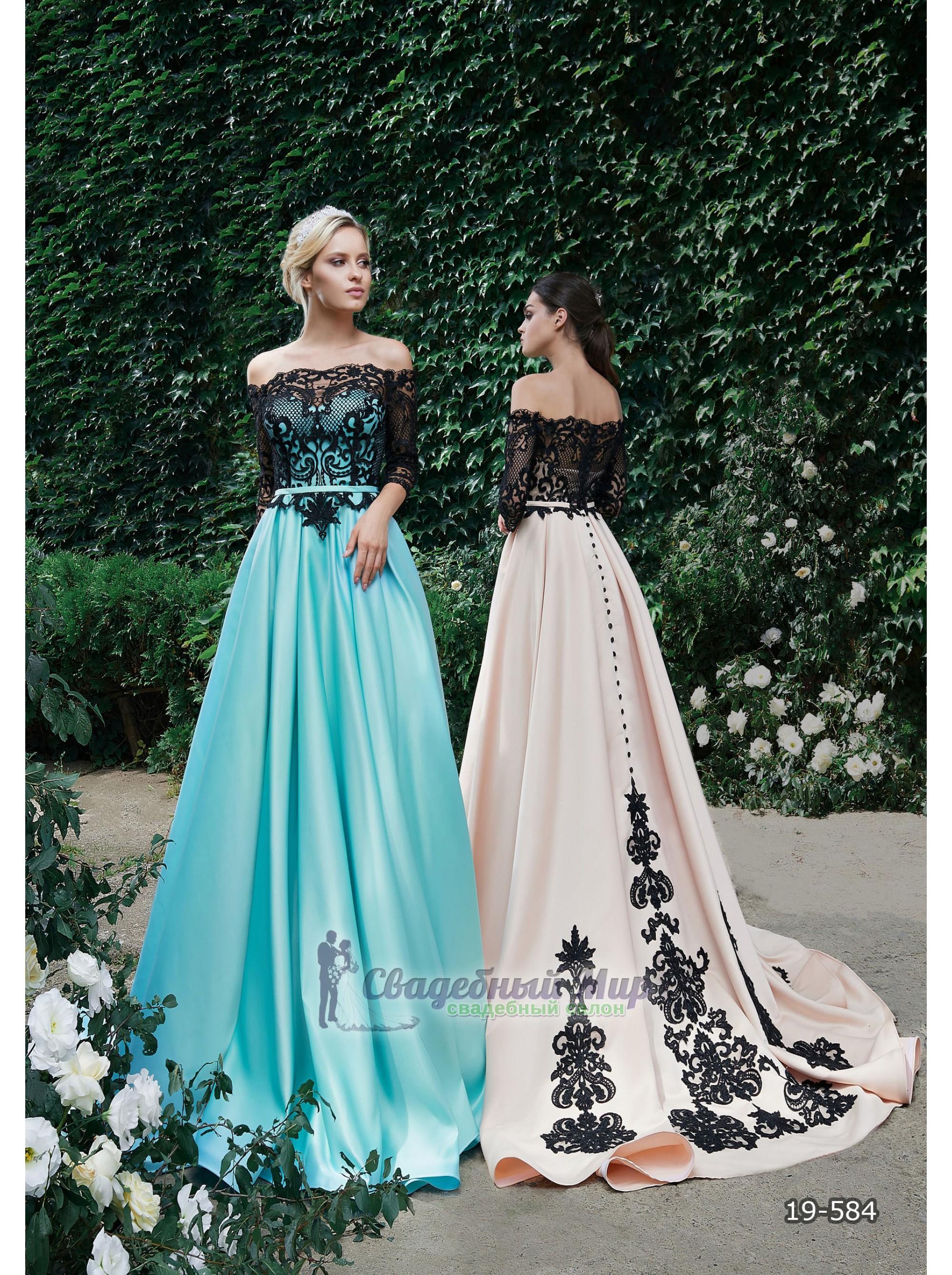 Вечернее платье 19-584