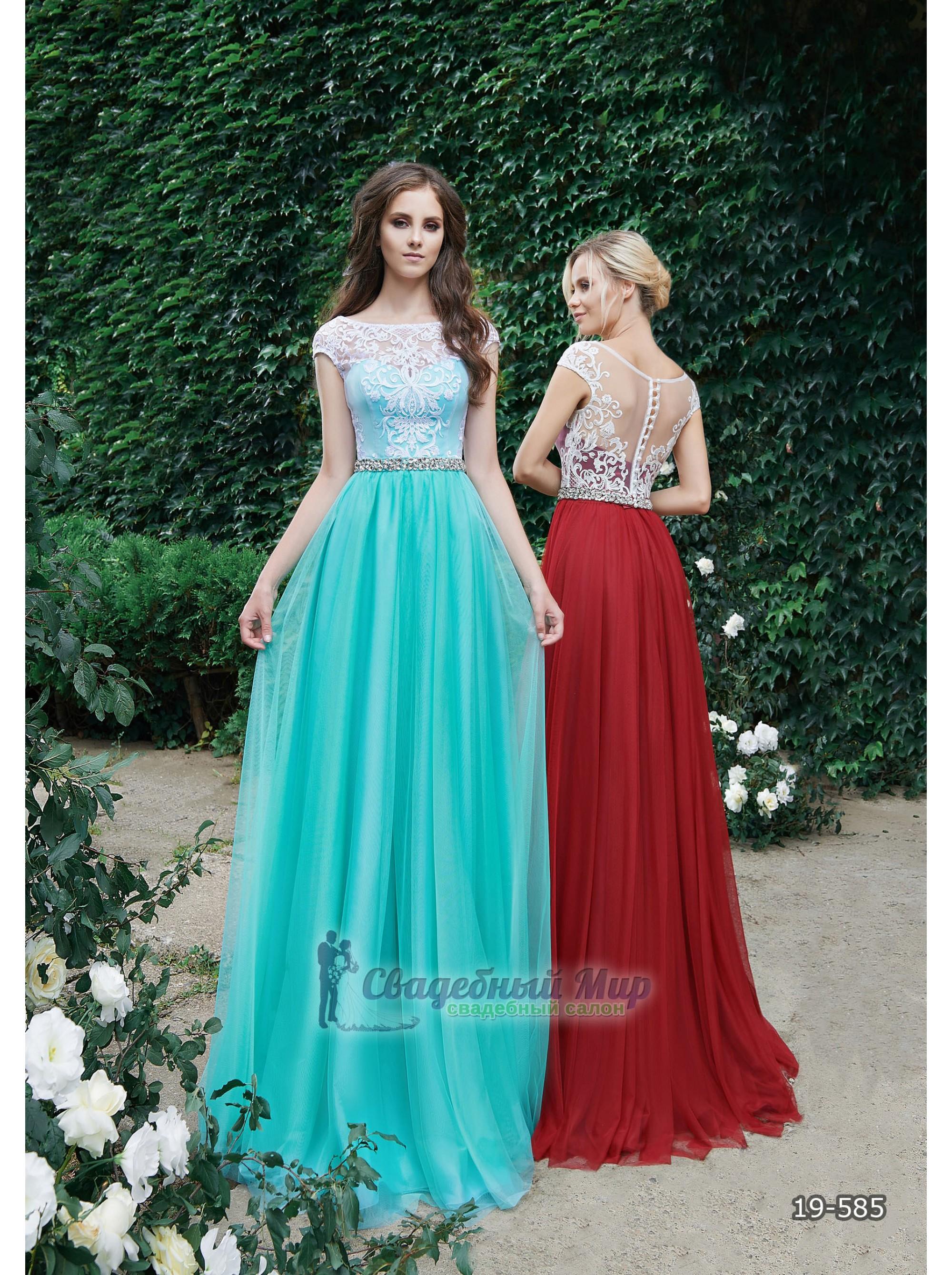 Вечернее платье 19-585