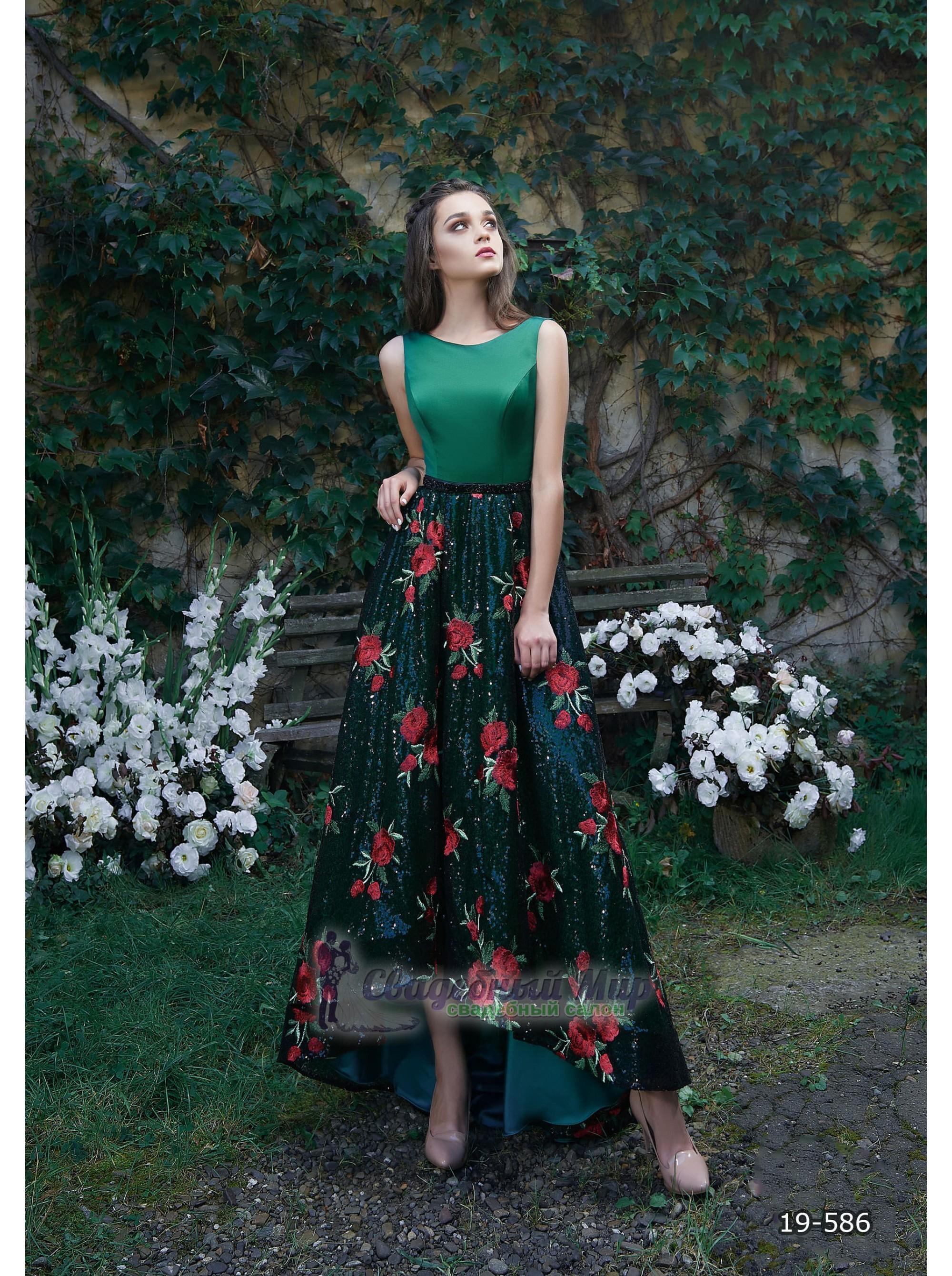Вечернее платье 19-586