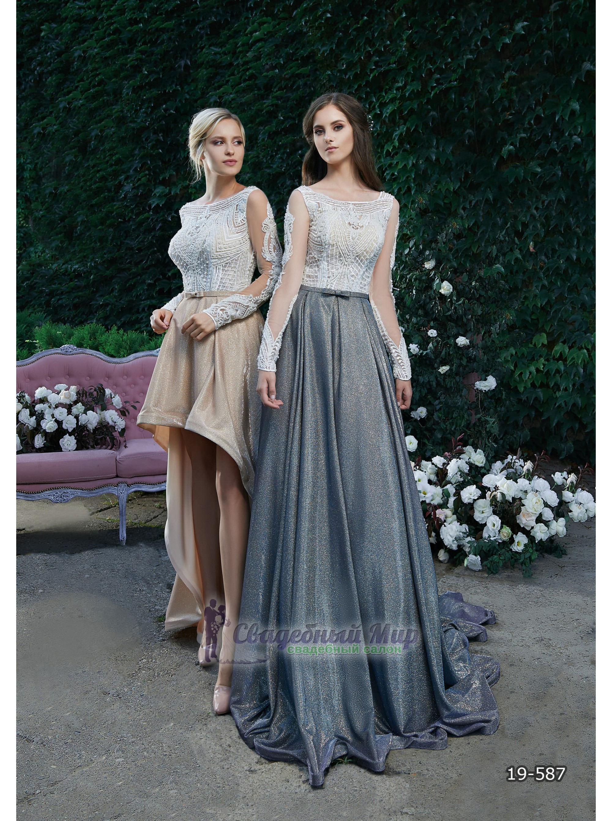 Вечернее платье 19-587