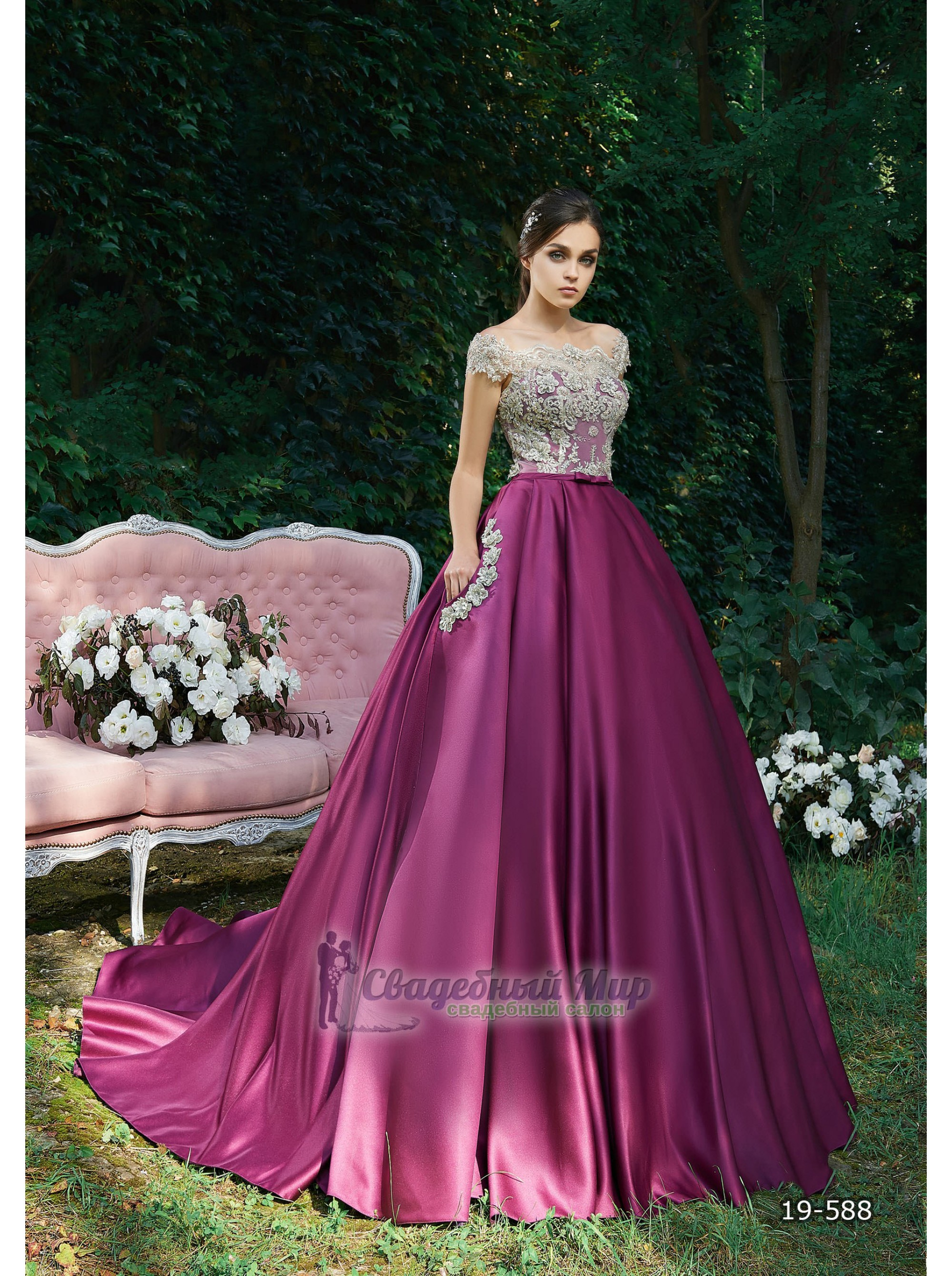 Вечернее платье 19-588