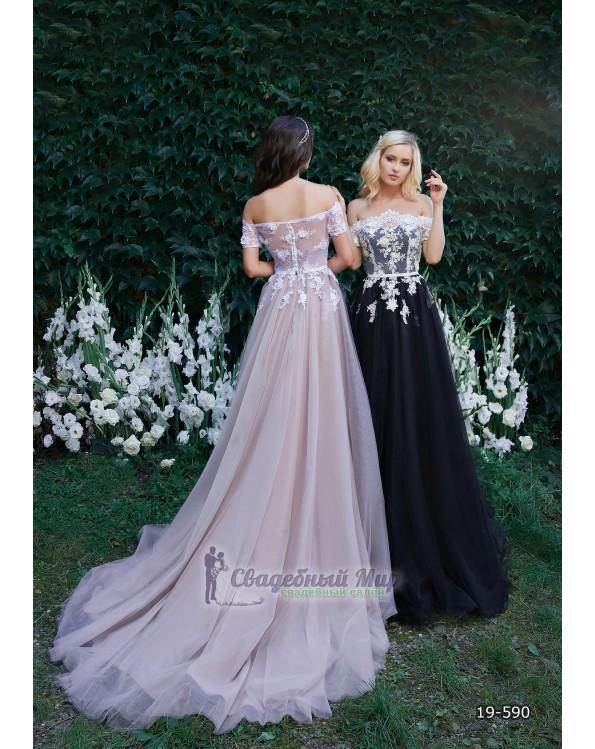 Вечернее платье 19-590