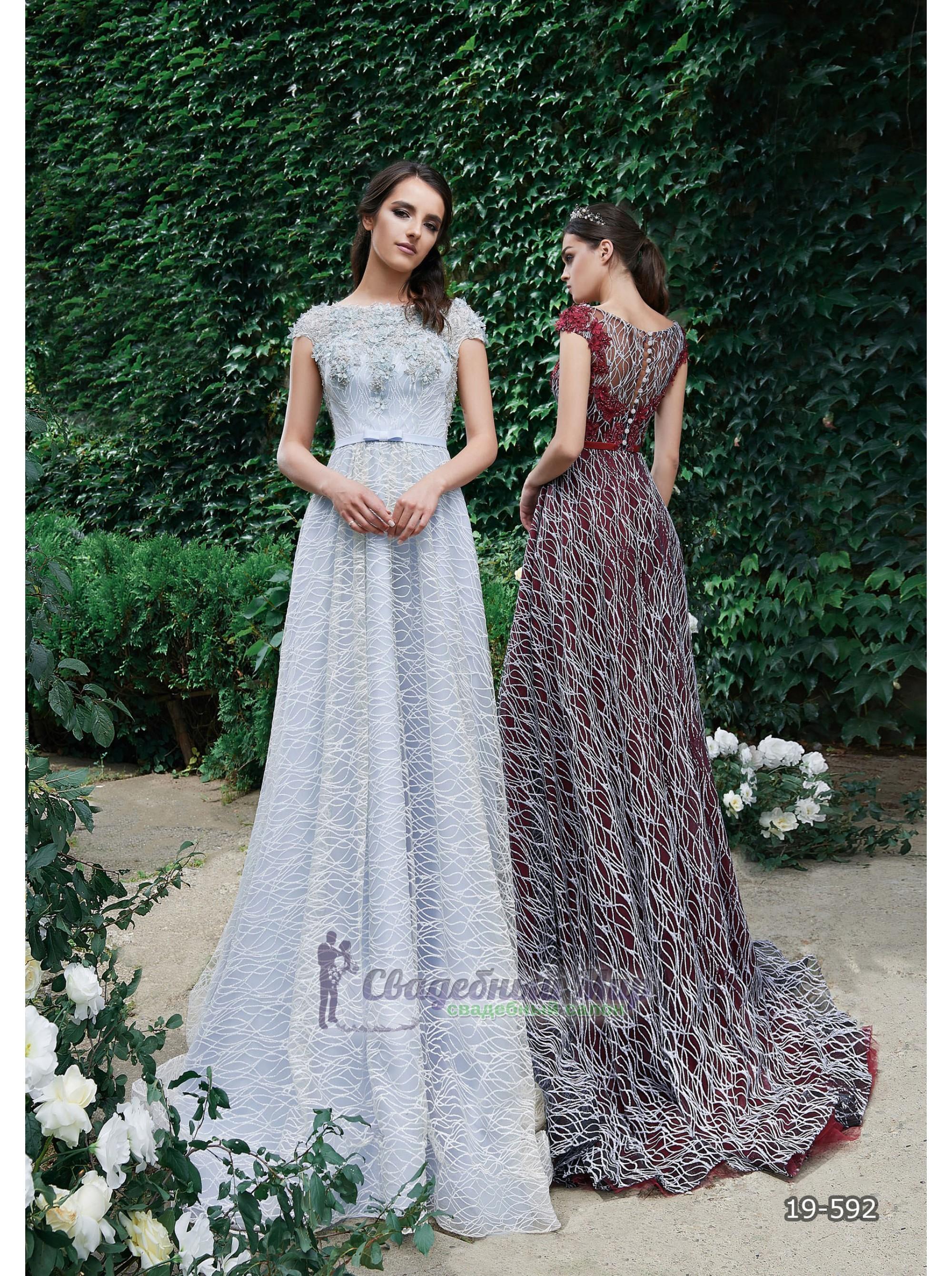 Вечернее платье 19-592
