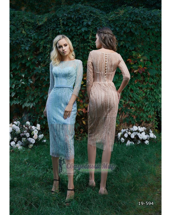 Вечернее платье 19-594