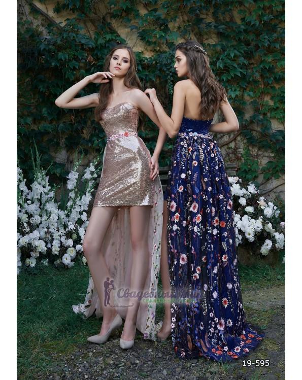 Вечернее платье 19-595