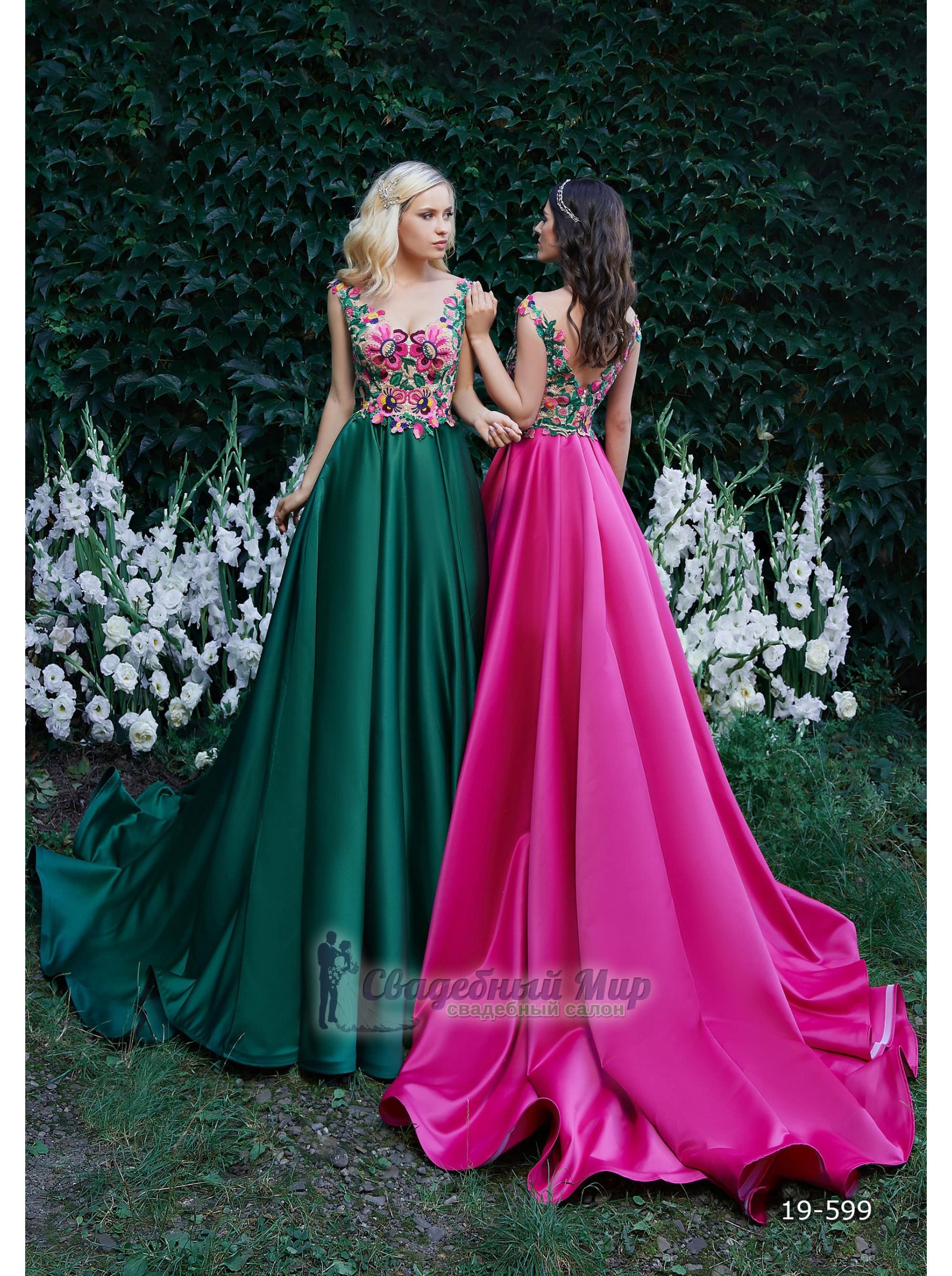 Вечернее платье 19-599