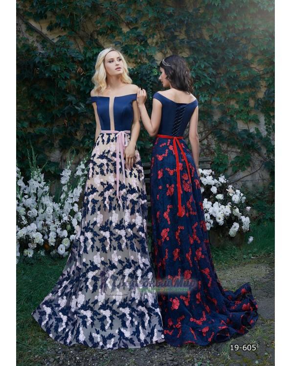 Вечернее платье 19-605