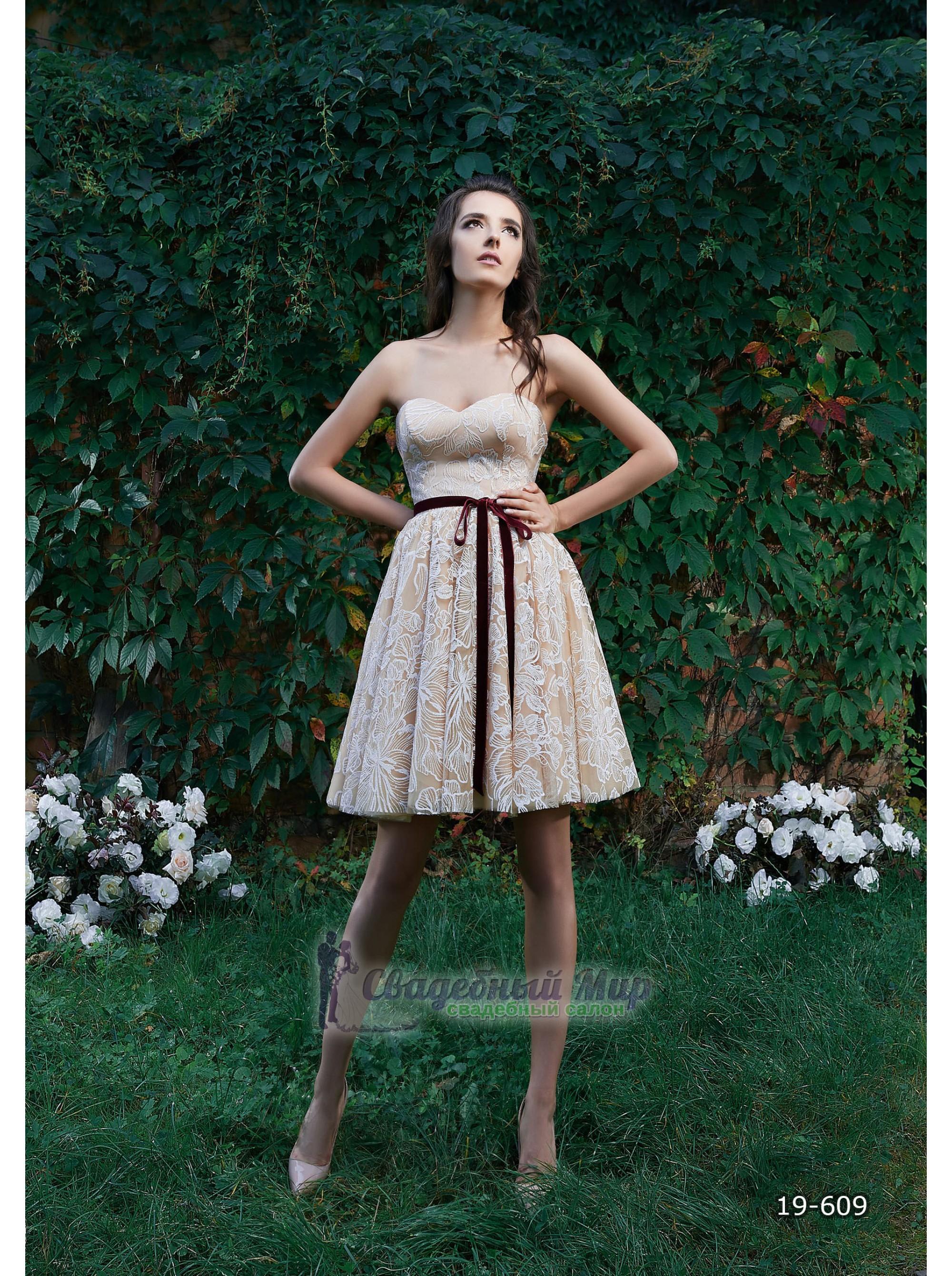 Вечернее платье 19-609