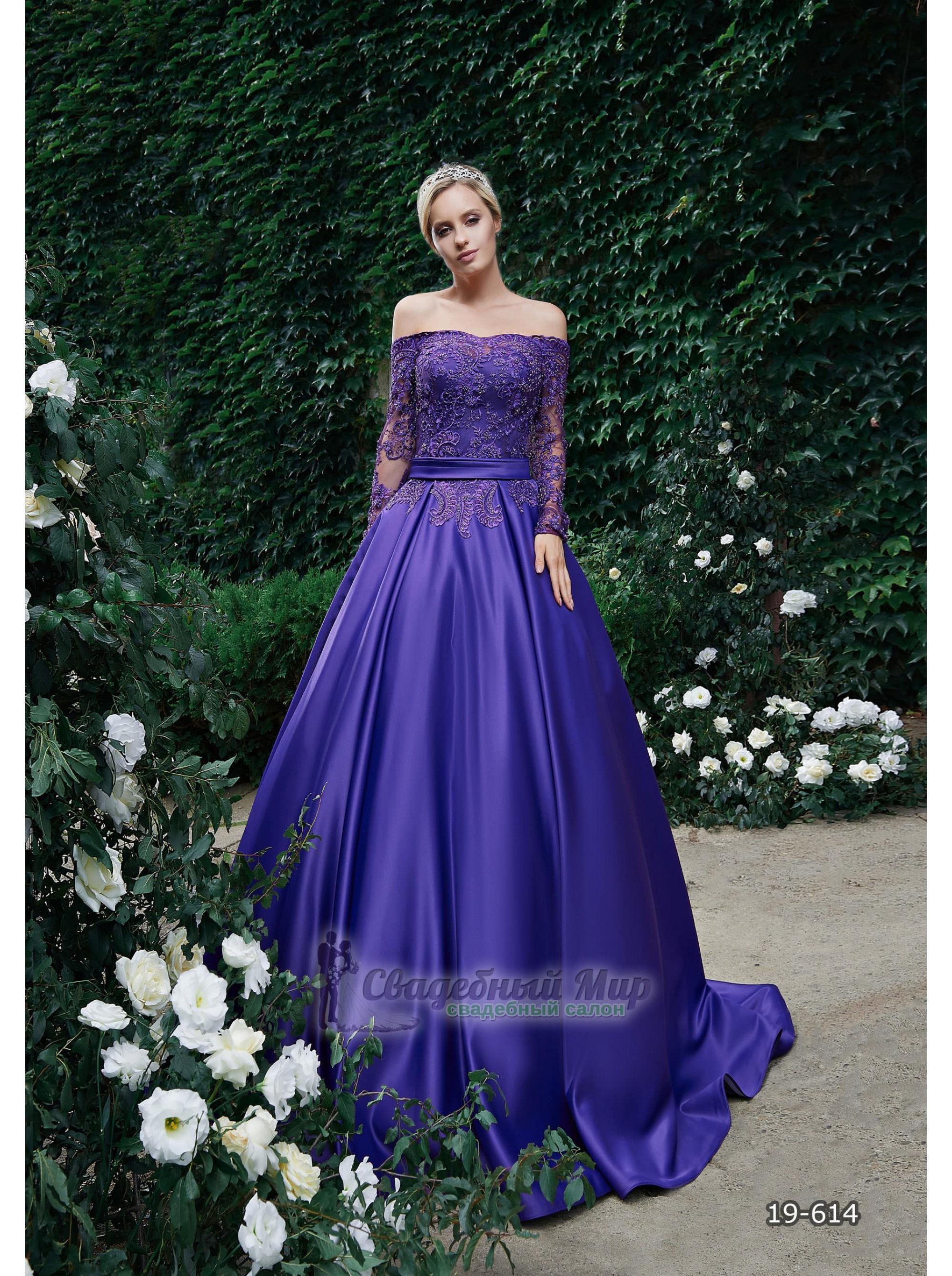 Вечернее платье 19-614