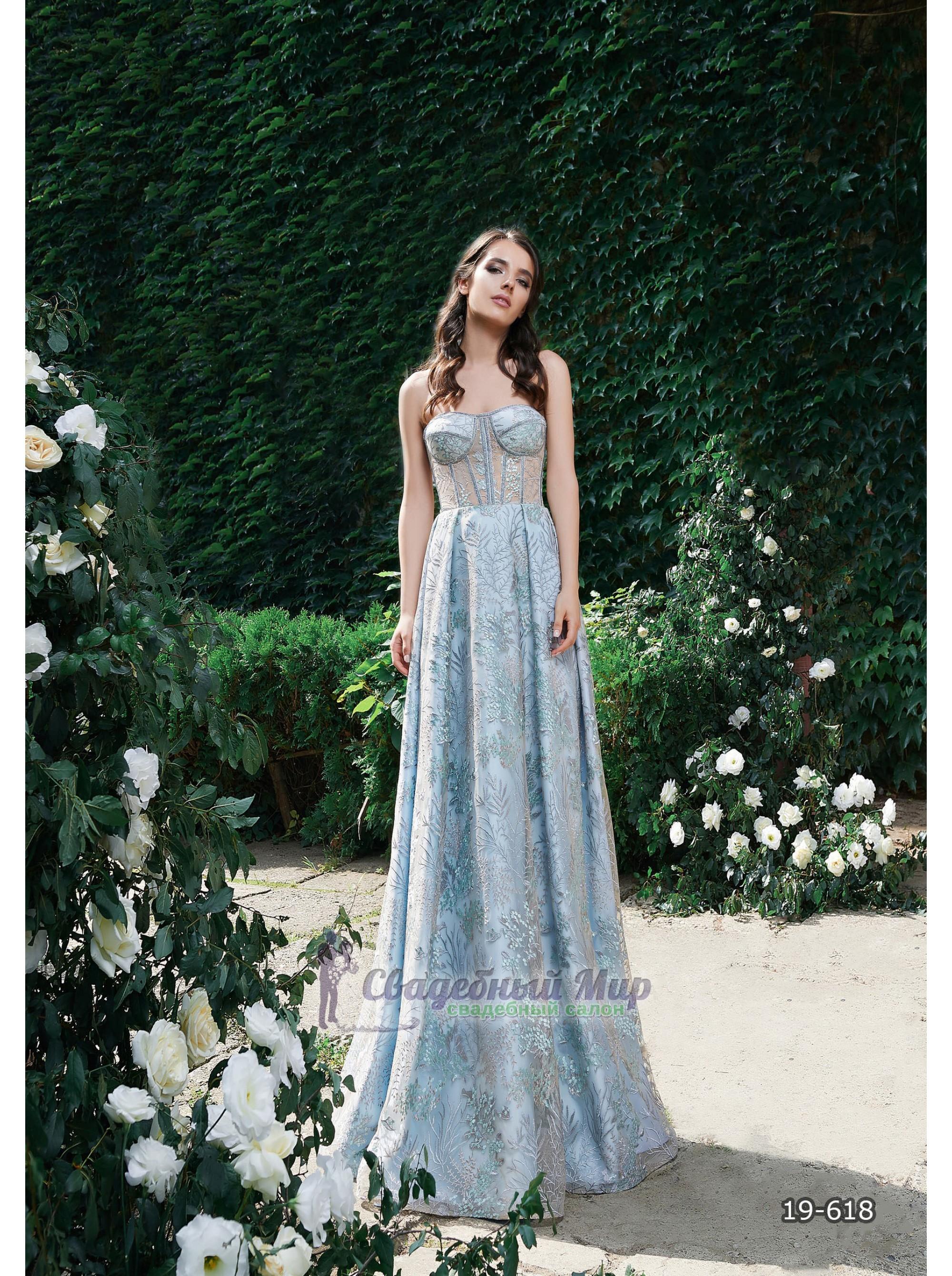 Вечернее платье 19-618
