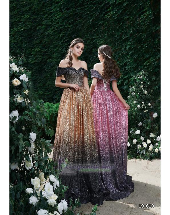Вечернее платье 19-619