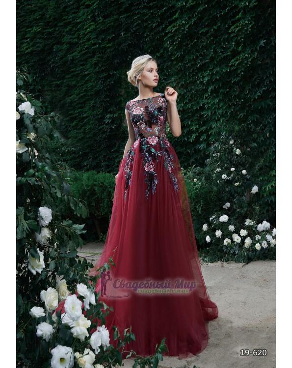 Вечернее платье 19-620
