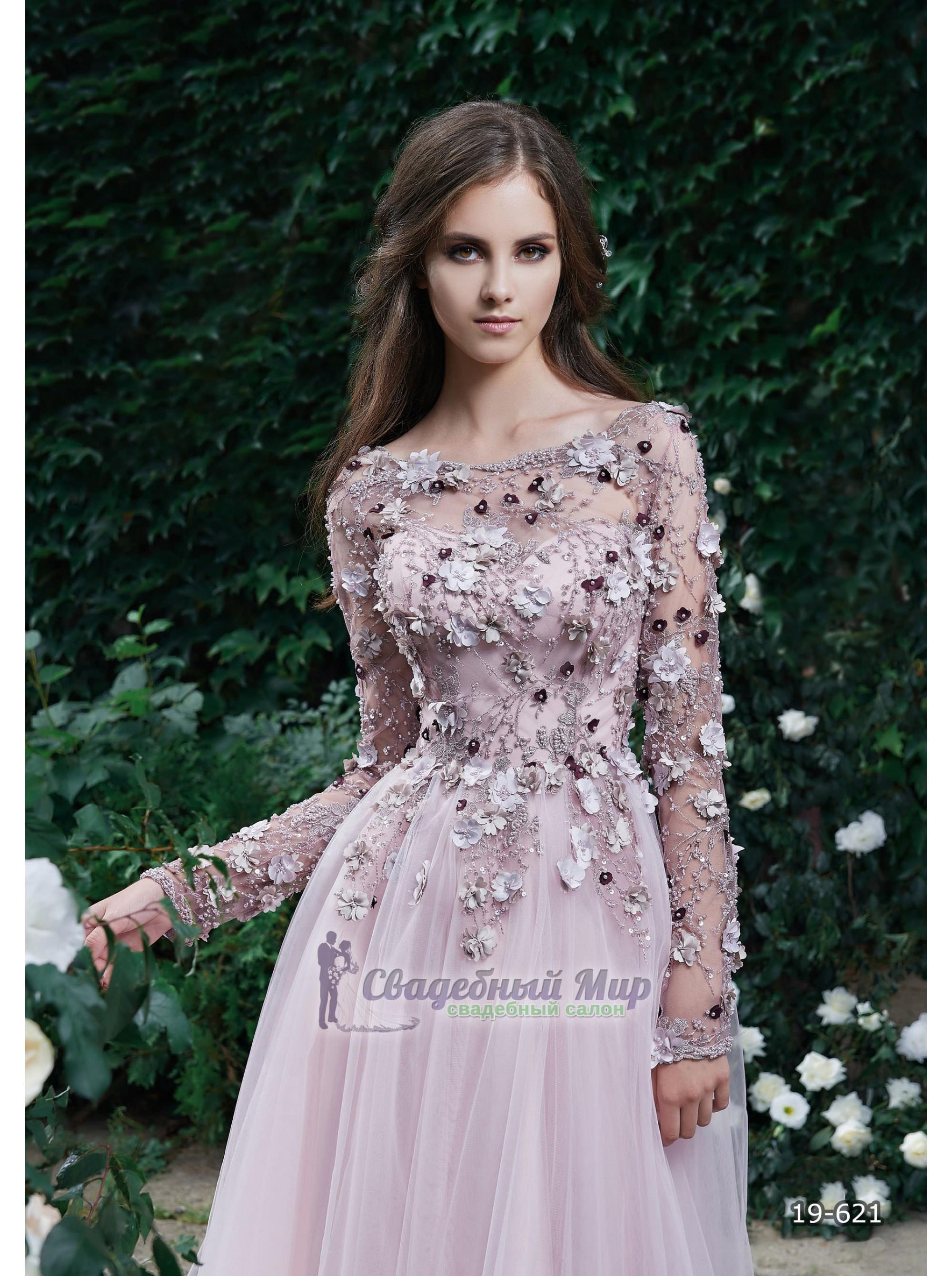 Вечернее платье 19-621