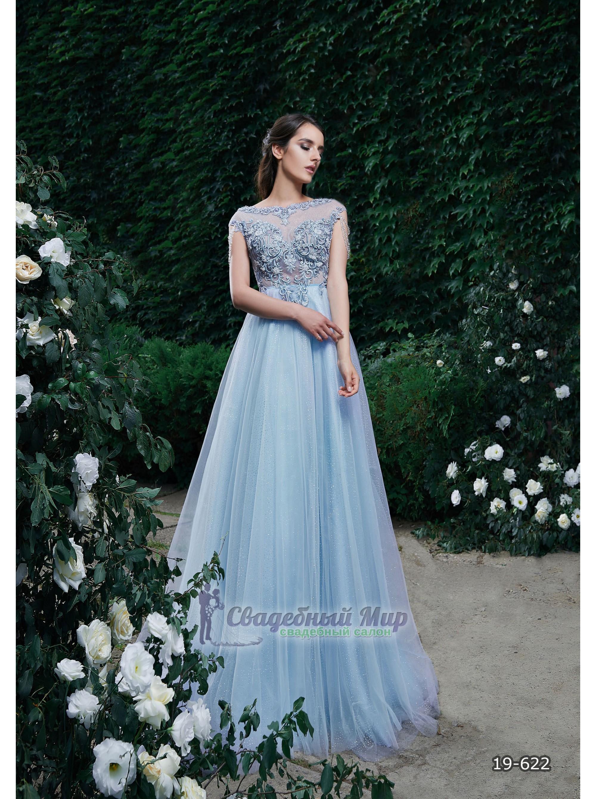 Вечернее платье 19-622