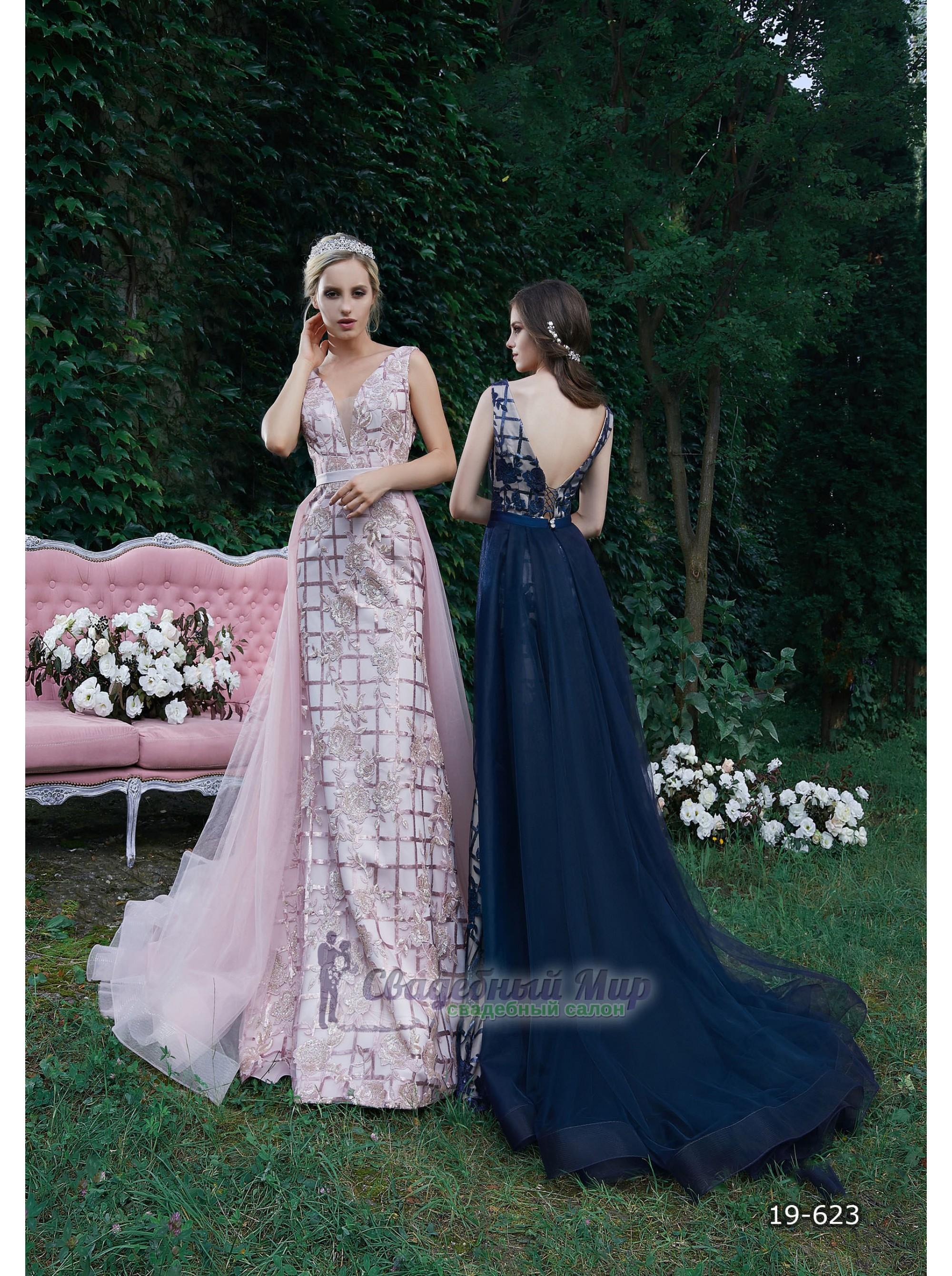 Вечернее платье 19-623