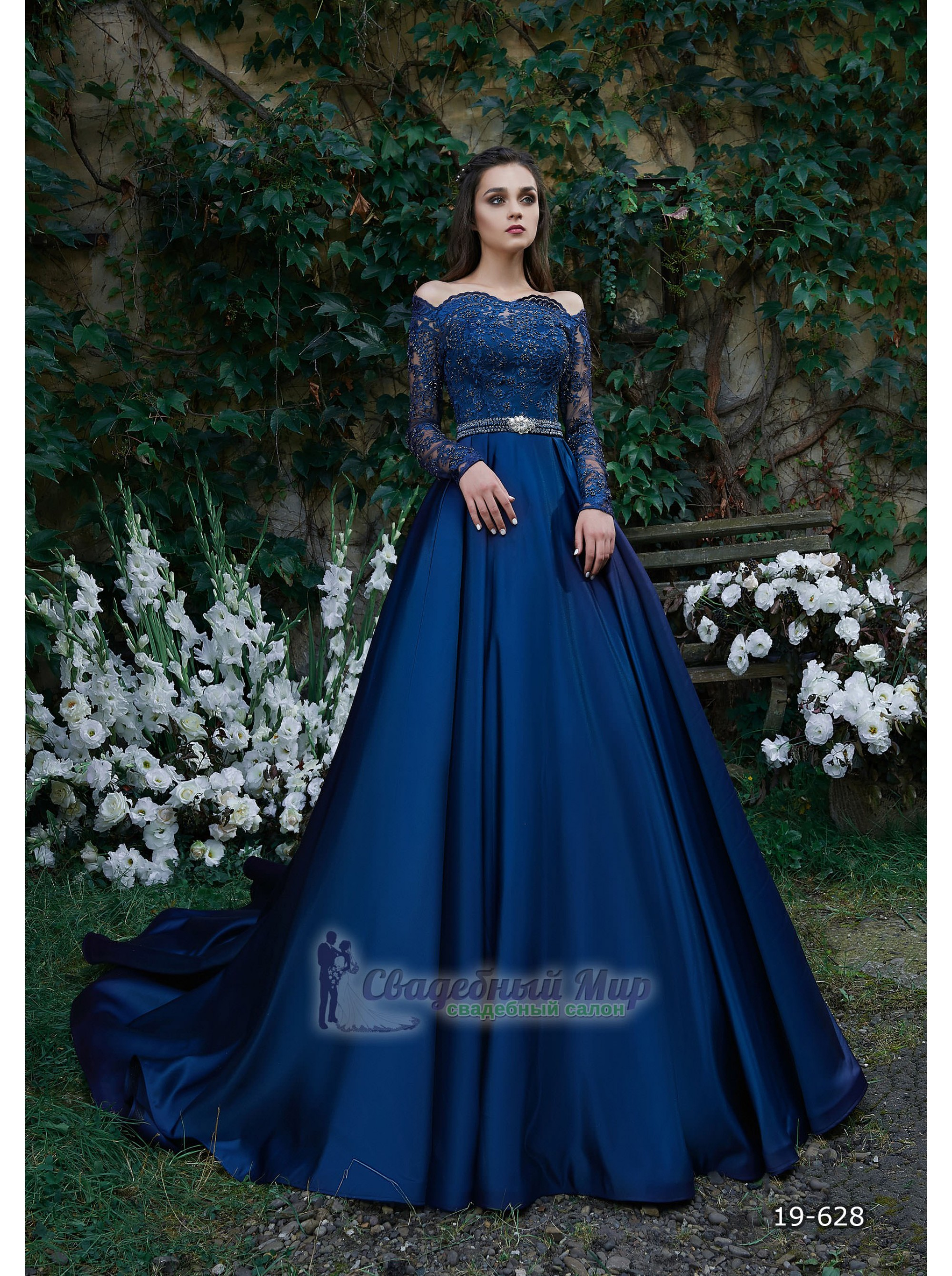 Вечернее платье 19-628