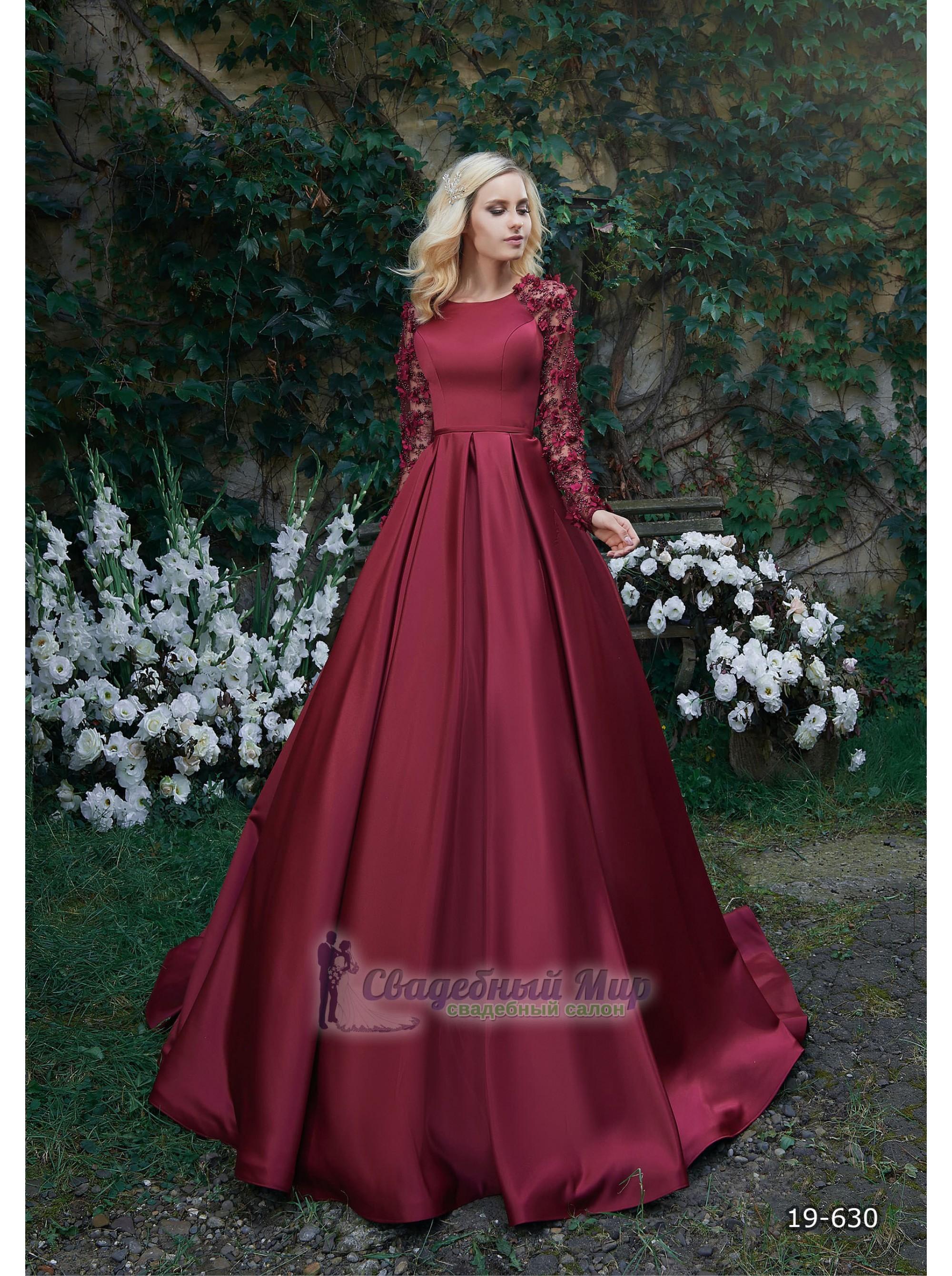 Вечернее платье 19-630