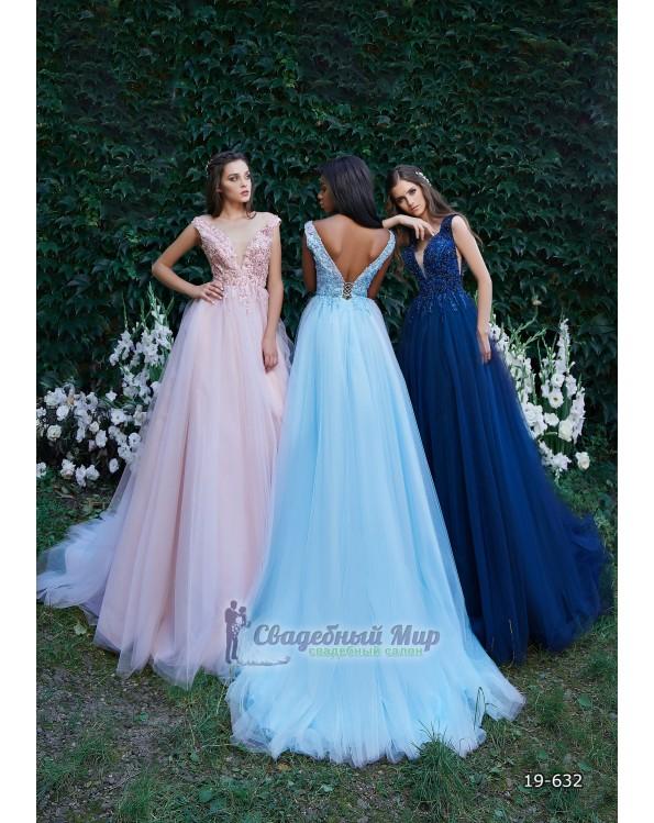 Вечернее платье 19-632